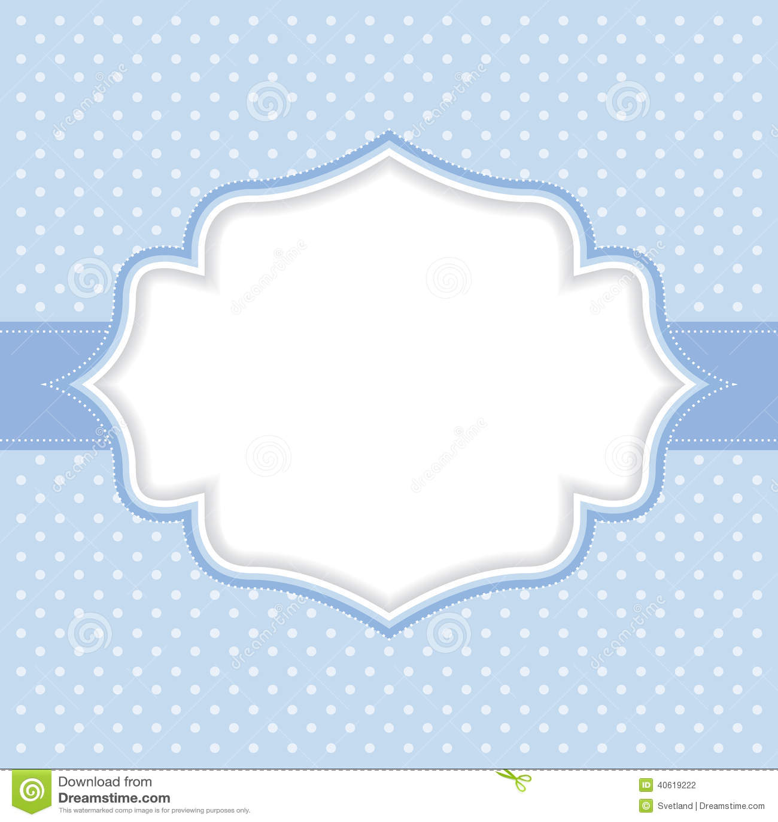 Polka dot frame stock illustration. Illustration of ...