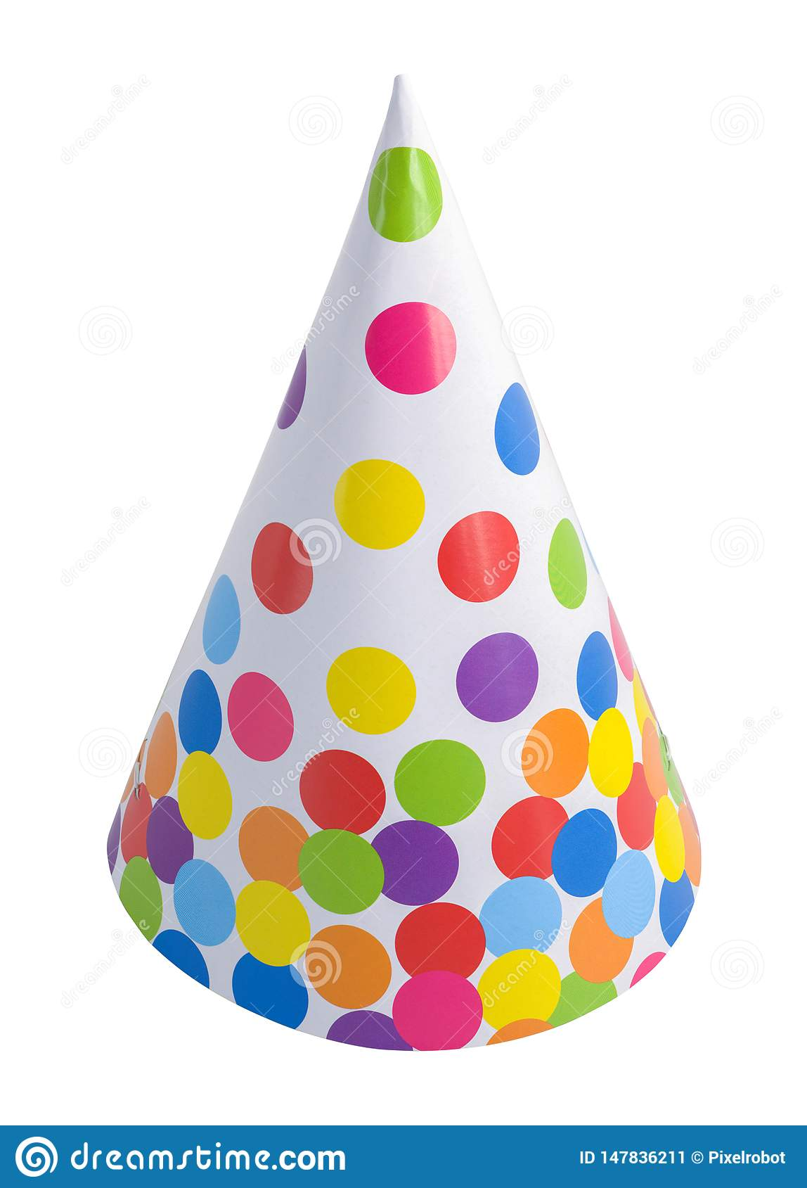Polka Dot Party Hat