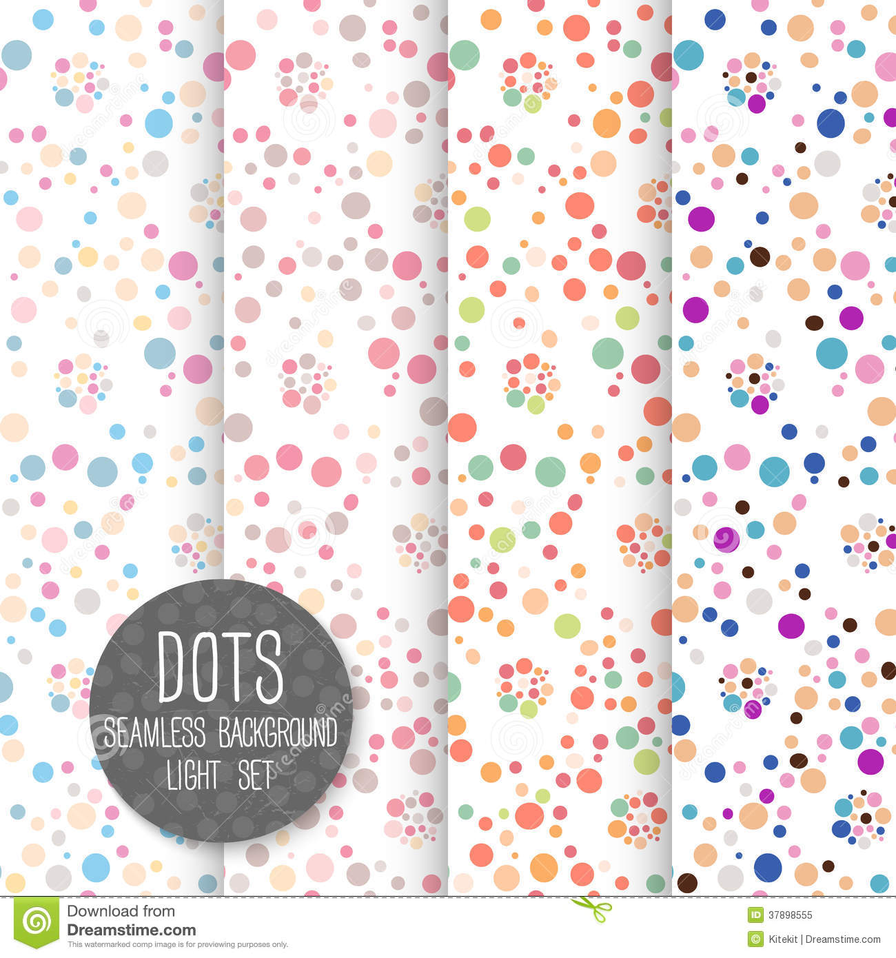 Polka dot background free download.