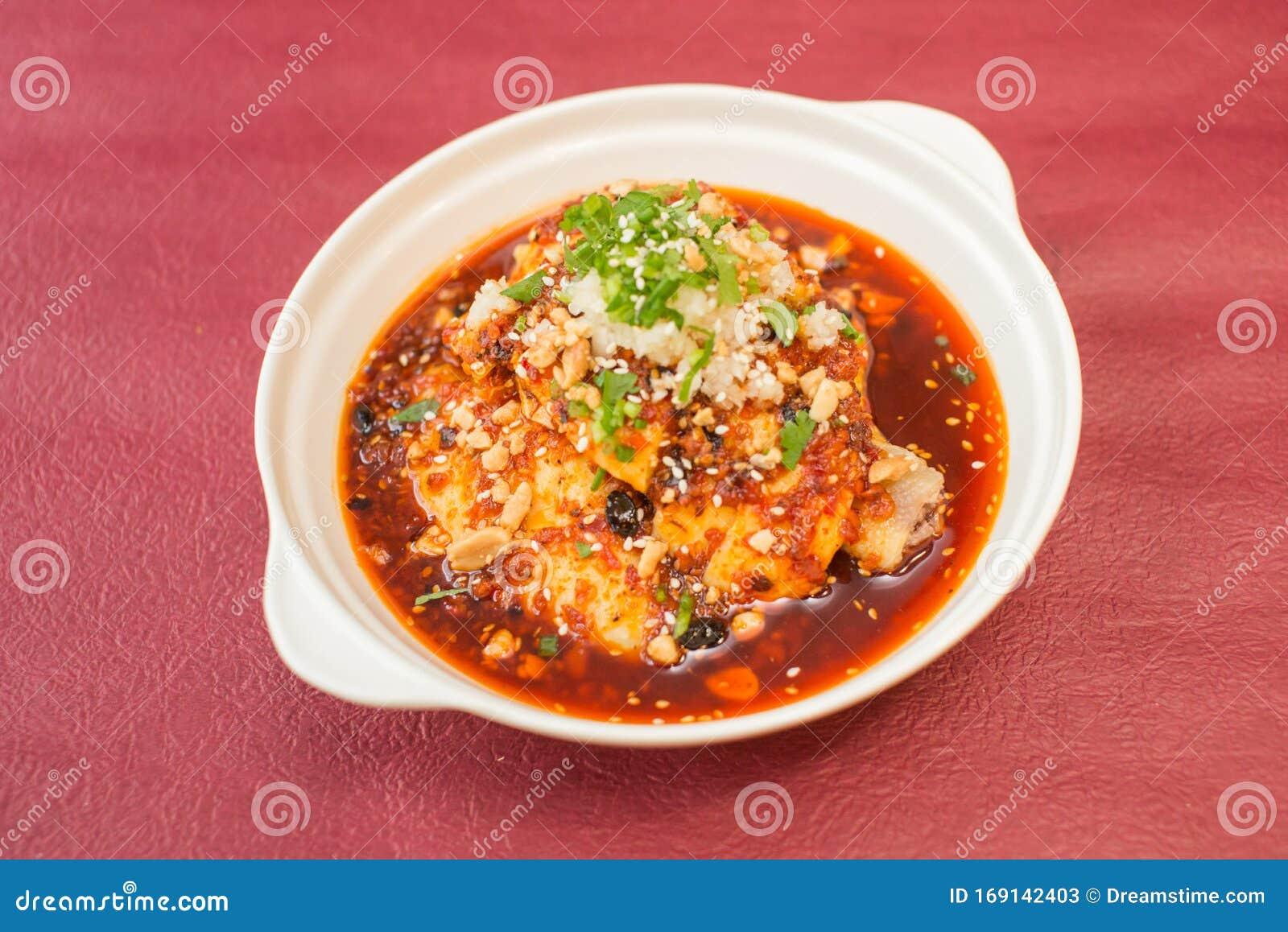 Pollo Al Vapor Con Salsa De Chile Marisco Japones Imagen De Archivo Imagen De Salsa Pollo 169142403