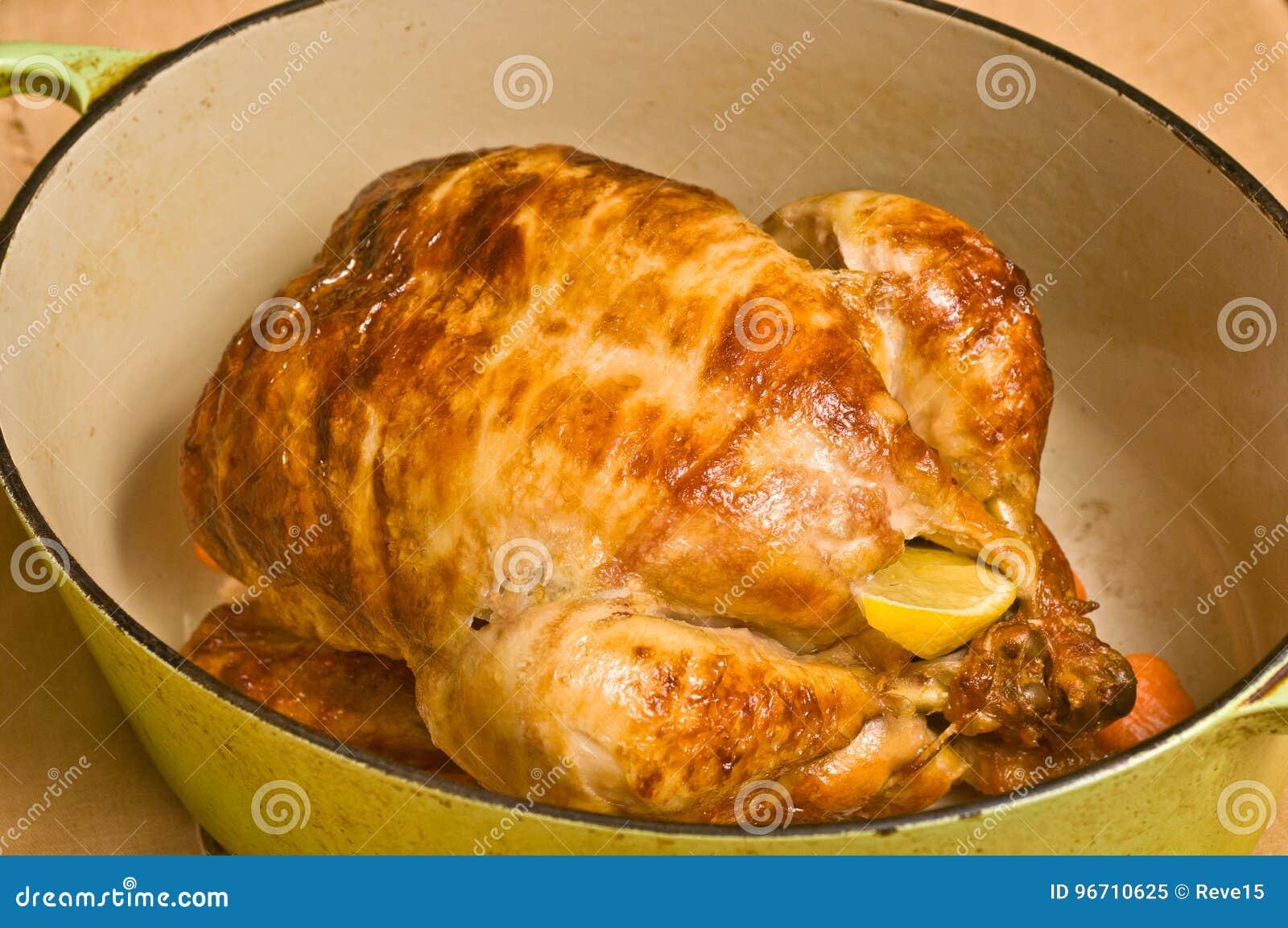 Pollo Asado Con Dieta Del Paleo De Los Cuartos Y De Las Zanahorias ...