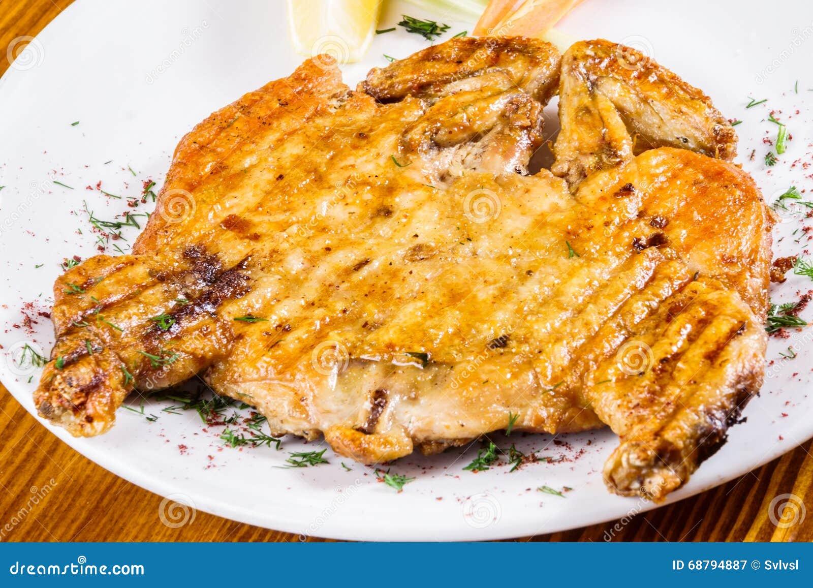 pollo cotto cucina georgiana fotografia stock immagine