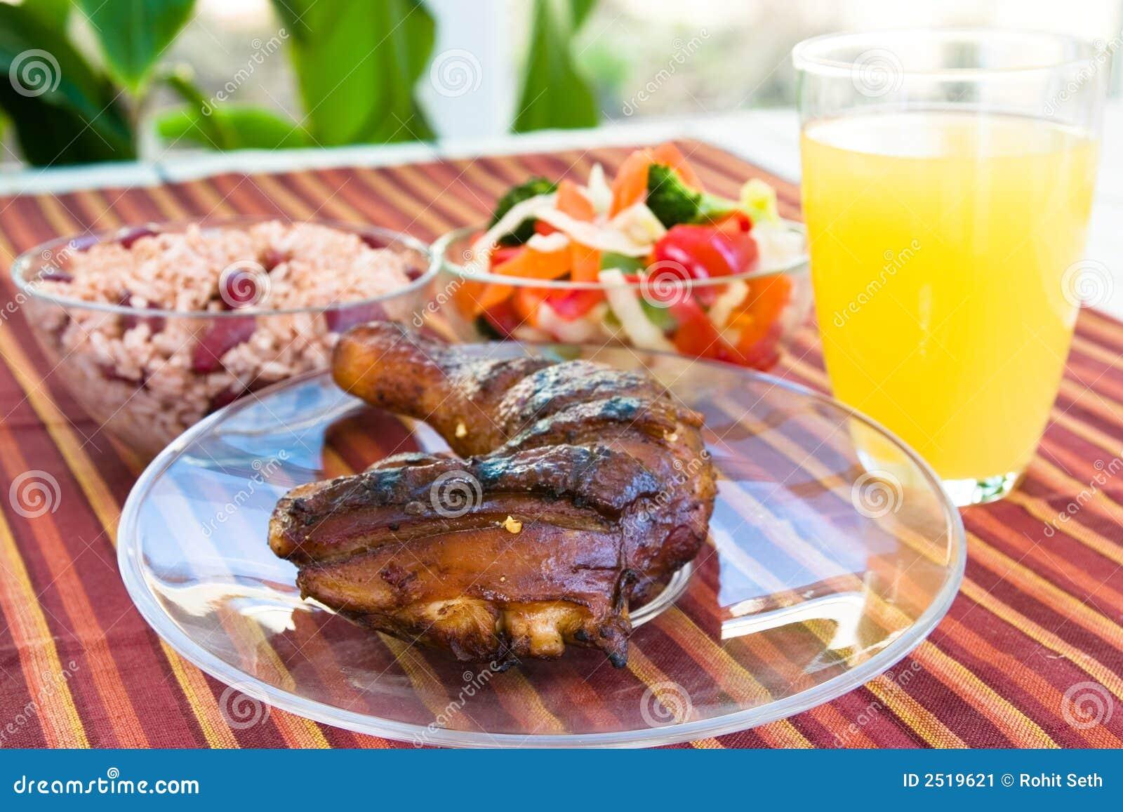 Pollo di scatto con le verdure