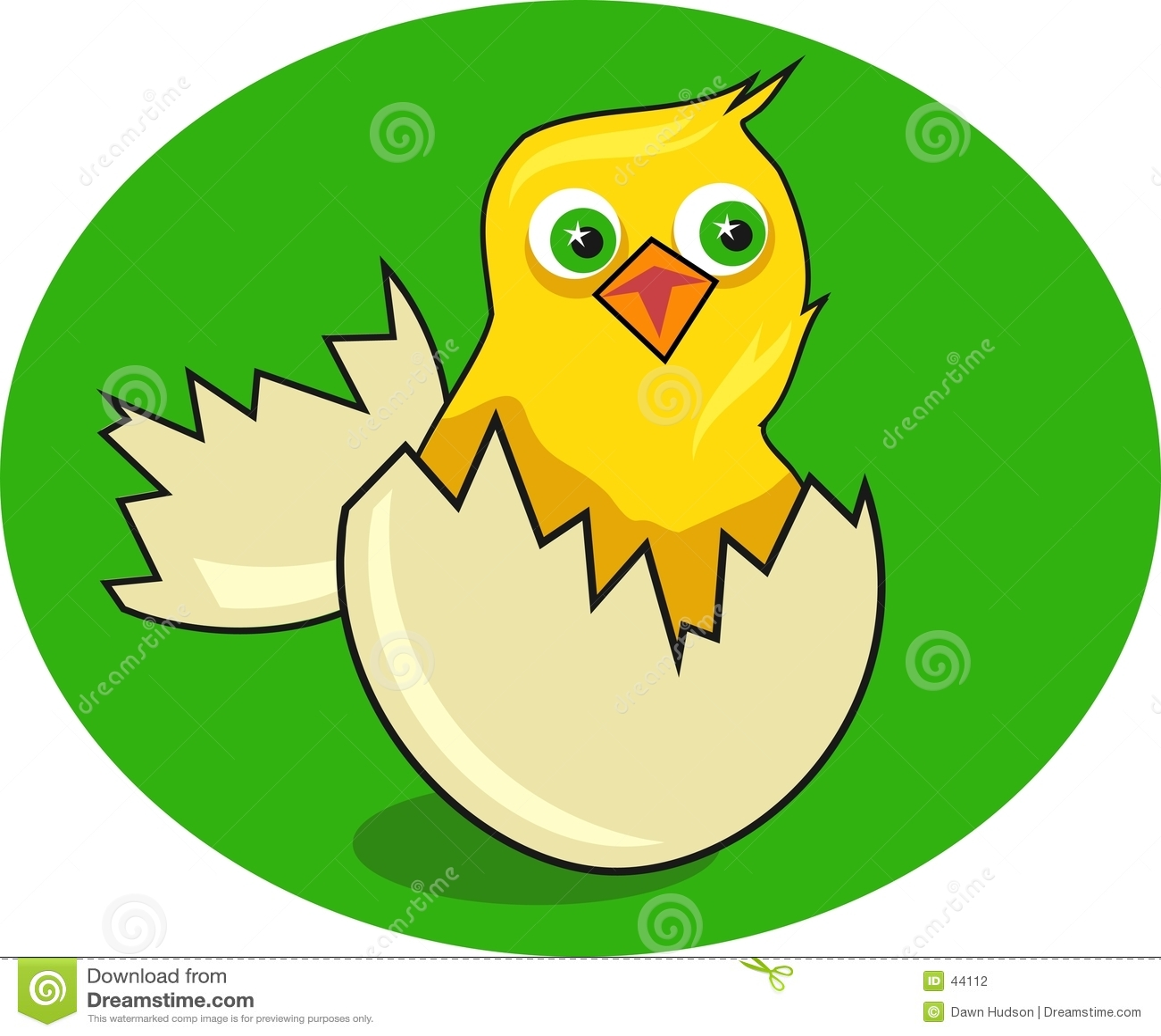 Download Polluelo ilustración del vector. Ilustración de nacimiento - 44112