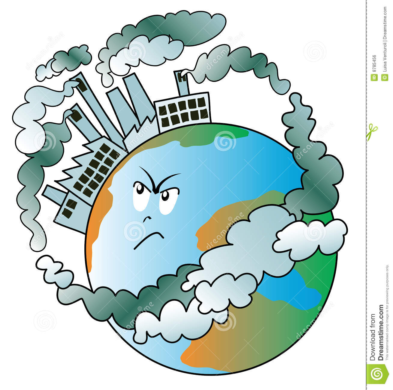 industrial pollution clipart - photo #14