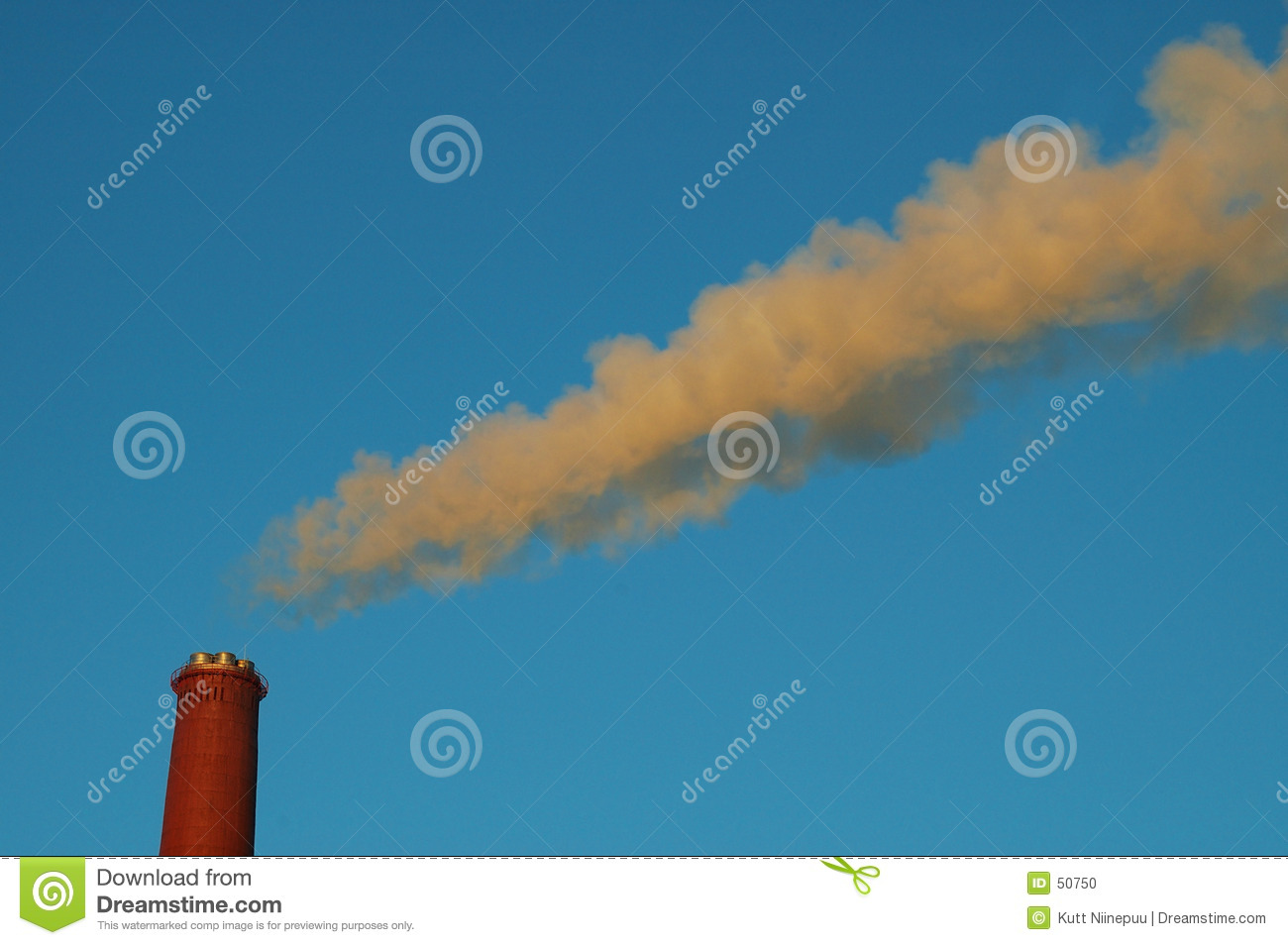 Download Pollution 2 photo stock. Image du pouvoir, rouge, bleu, environnement - 50750