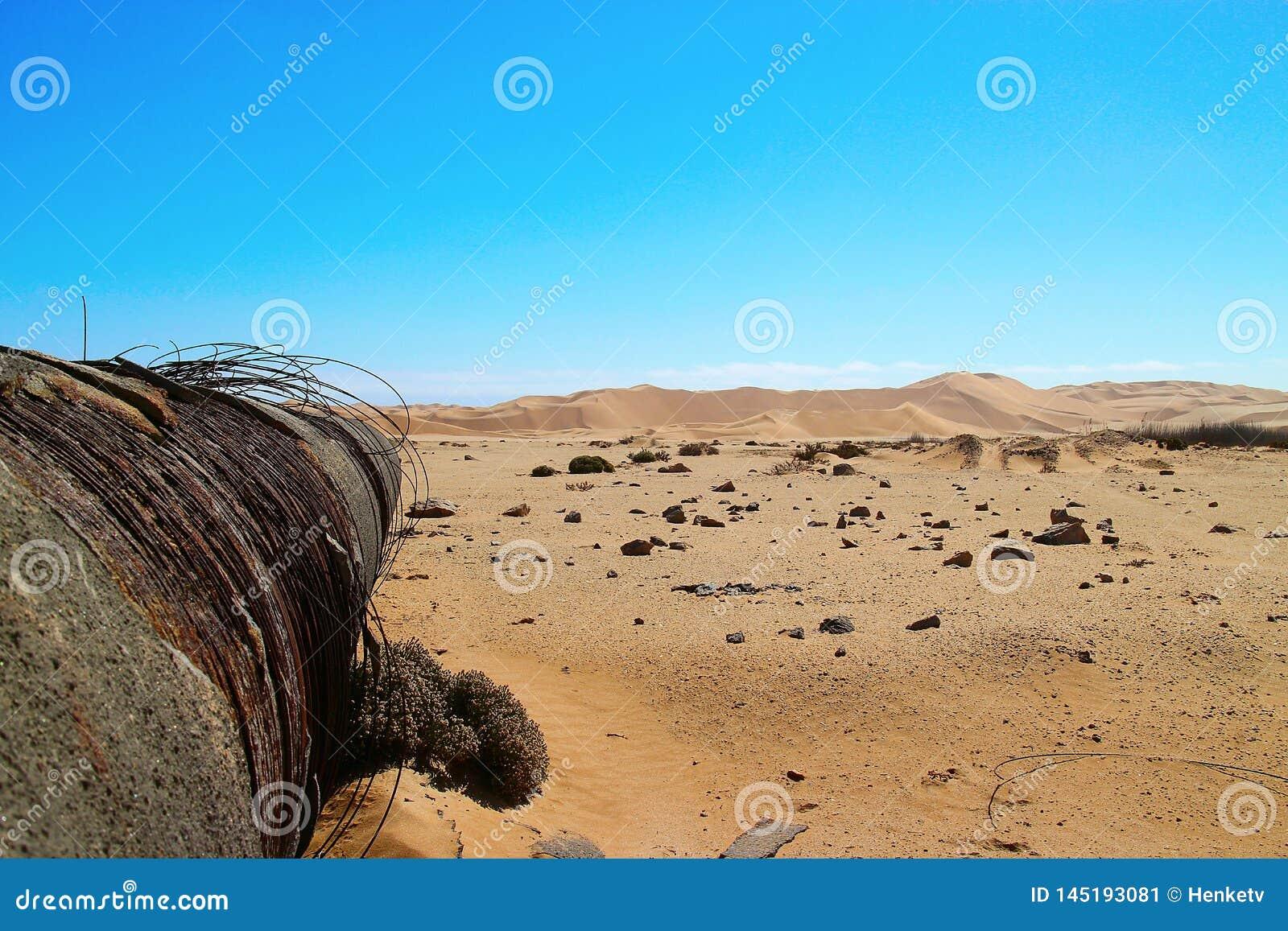 Pollution africaine de désert, Namibie