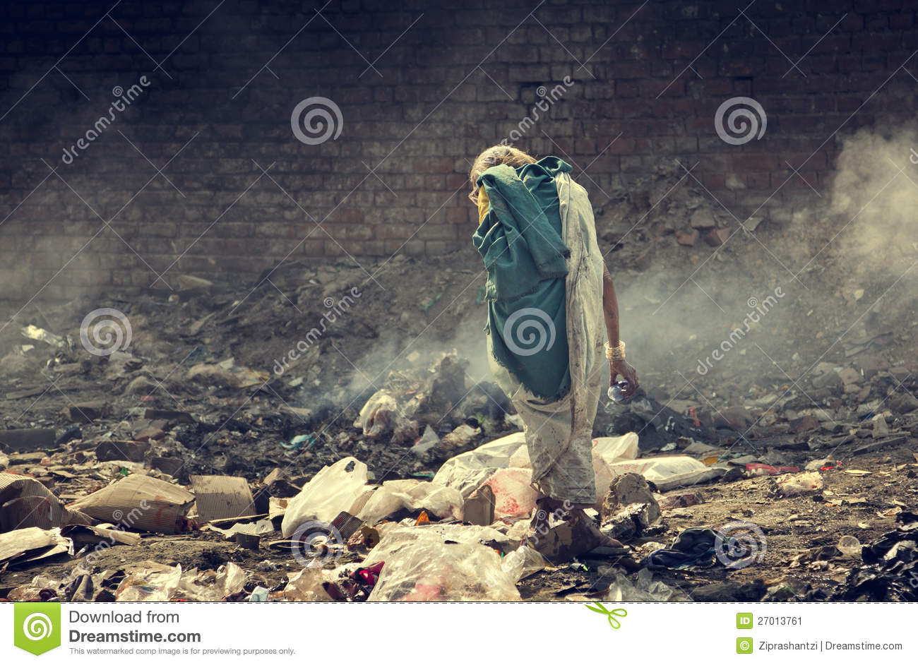 Pollution And Poverty Stock Image Image 27013761