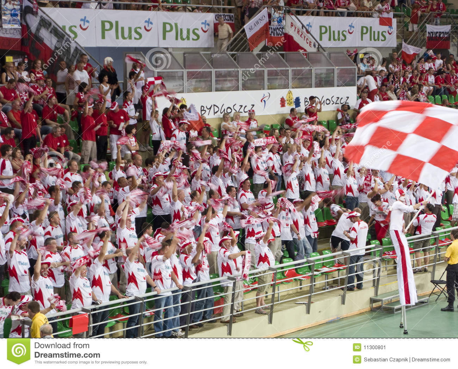 Polnische Volleybalgebläse