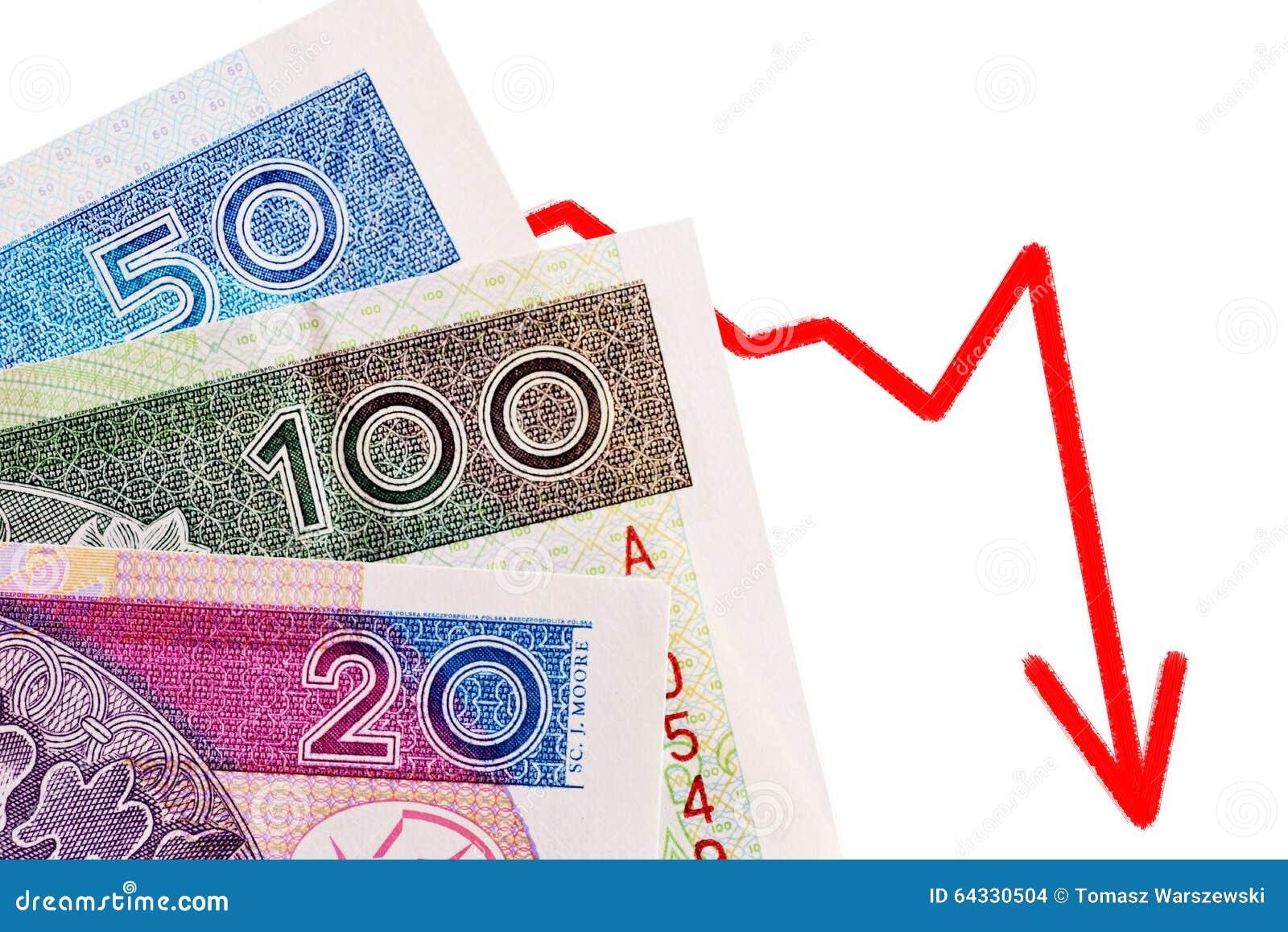 Polnisches Geld Stockfoto Bild Von Jährlich Geld Münzen 64330504