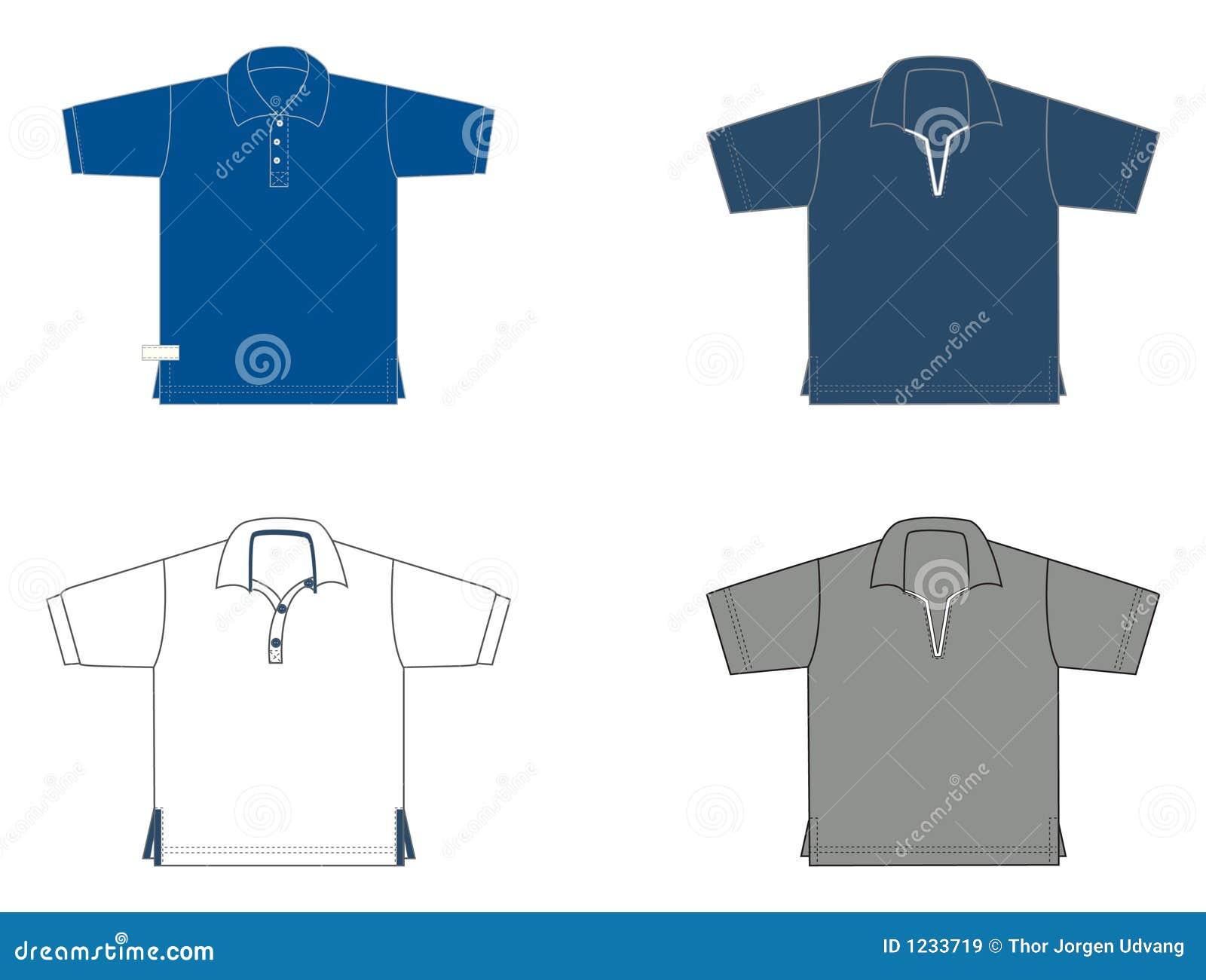 Polo-Hemden, verschiedene Baumuster und Farben
