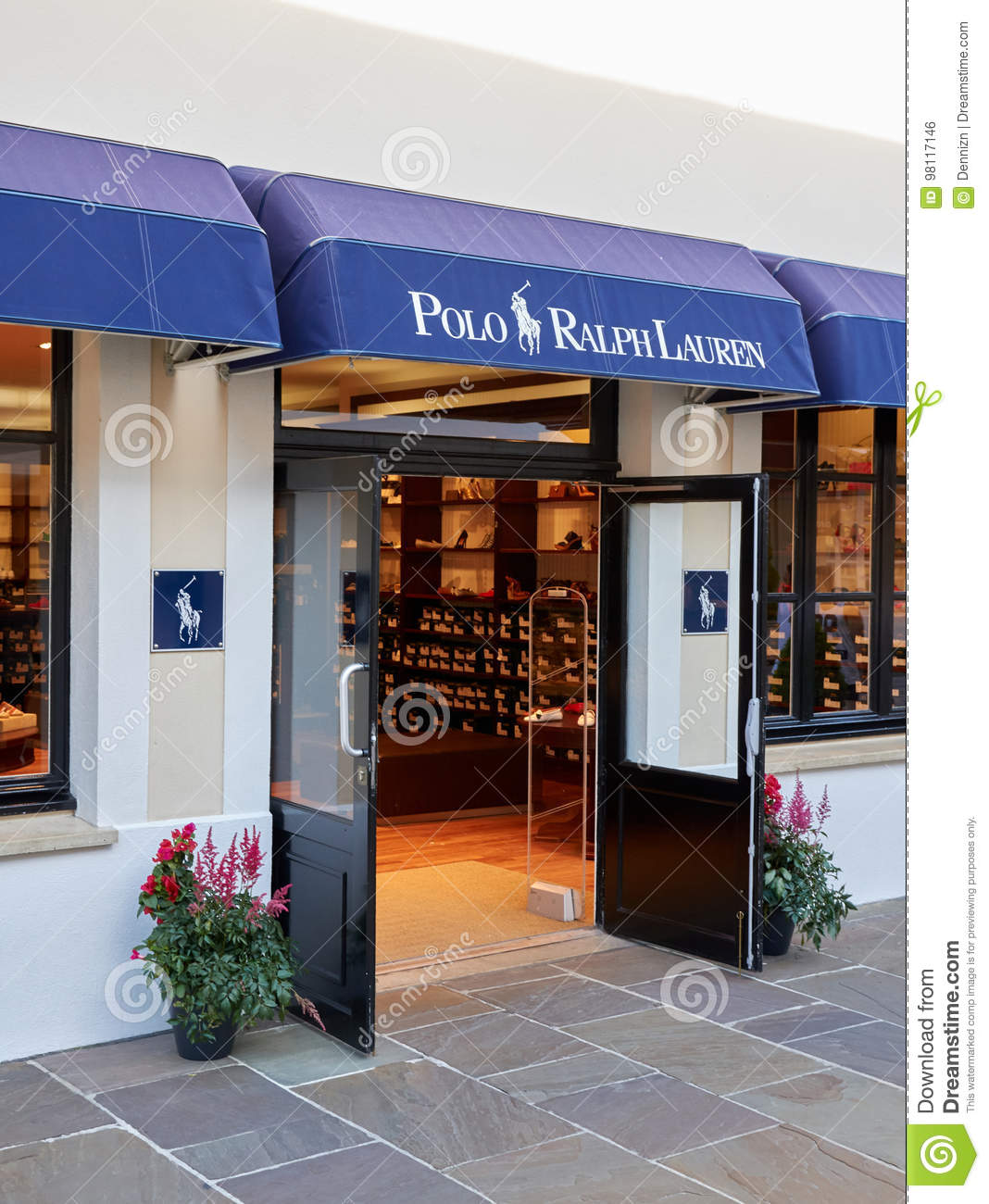 72996a1f93 Polo Ralph Lauren Boutique In La Vallee Village. Editorial Photo ...