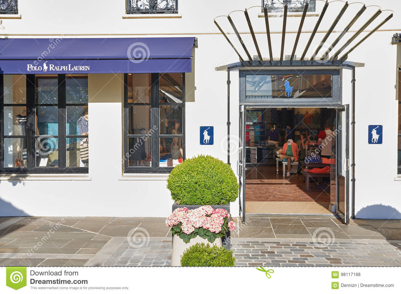 c243f3ad18 Polo Ralph Lauren Boutique In La Vallee Village. Editorial Stock ...