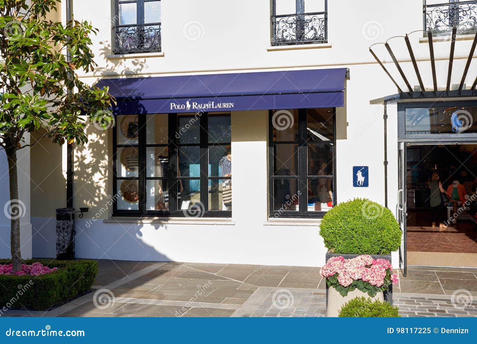 Polo Ralph Lauren Boutique In La Vallee Village. Editorial Image ... 2cb4fad2e79