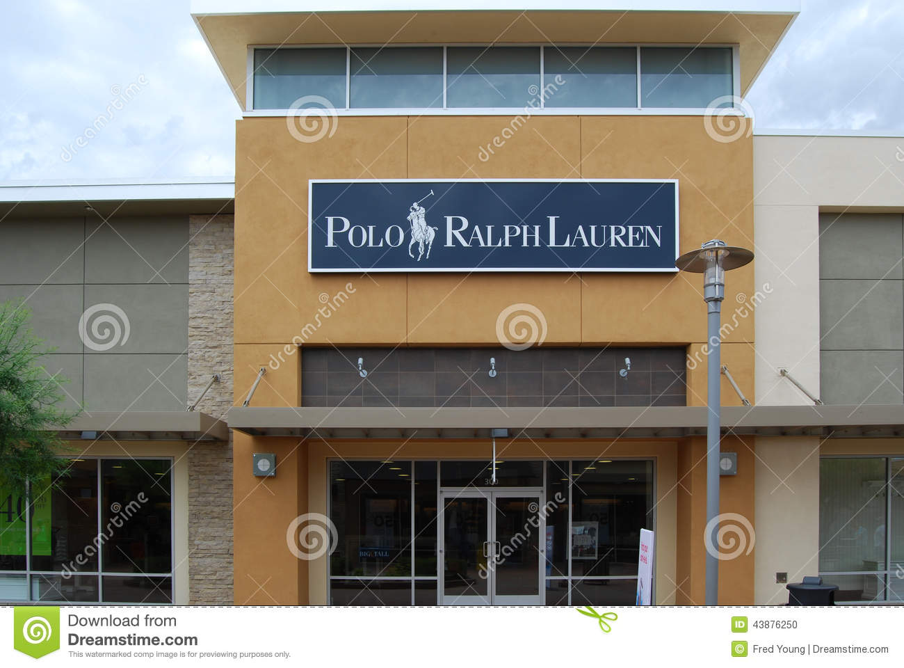 Ralph lauren signage on its outlet in klcc kuala lumpur for International decor outlet corp