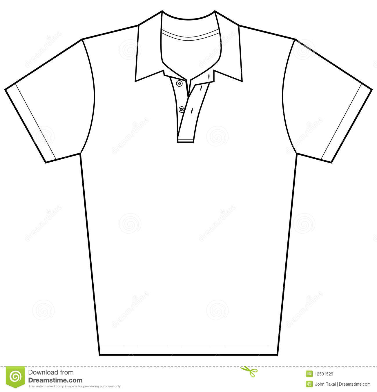 Polo Shirt Royalty Free Stock Images - Image: 12591529
