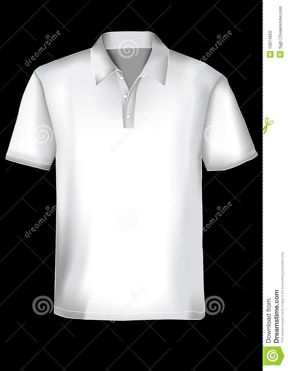 Polo shirt design template royalty free stock photo for Polo t shirt design online