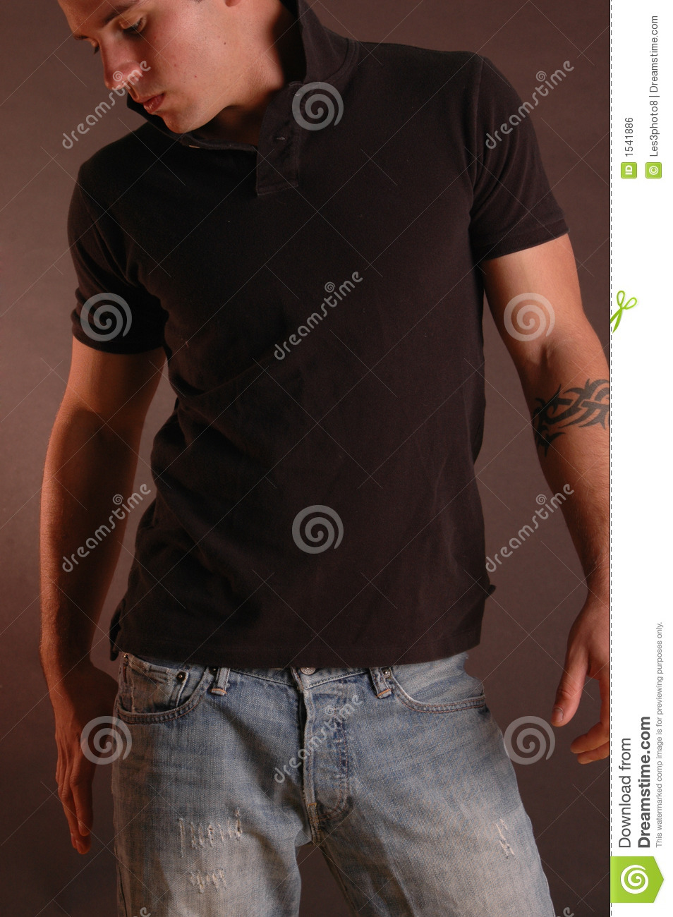 Polo shirt and jeans 2