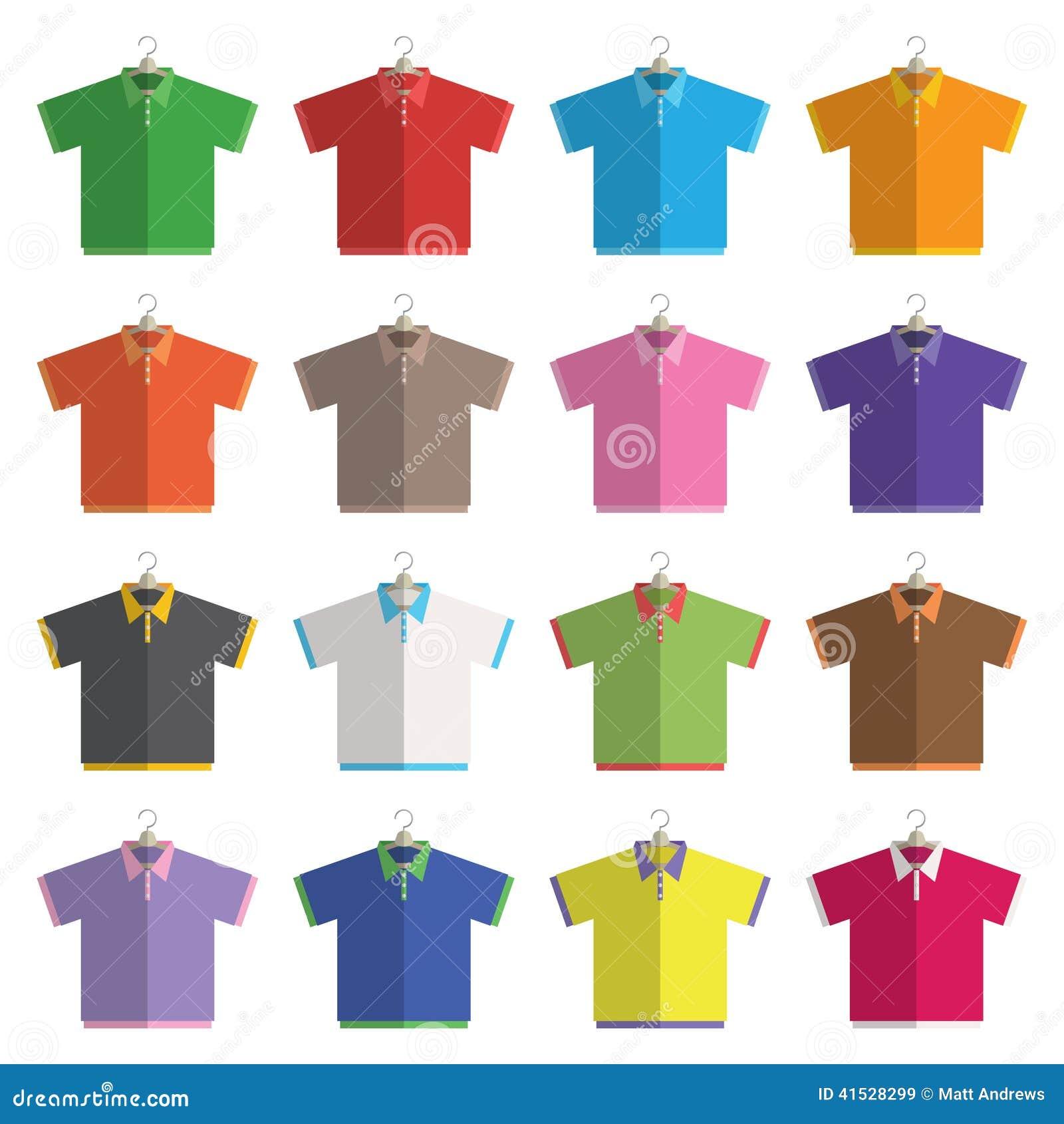 Polo shirt design vector - Polo Shirts