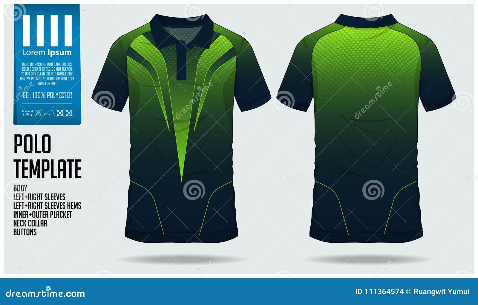 9291297d581 Polo T Shirt Sport Design Template For Soccer Jersey