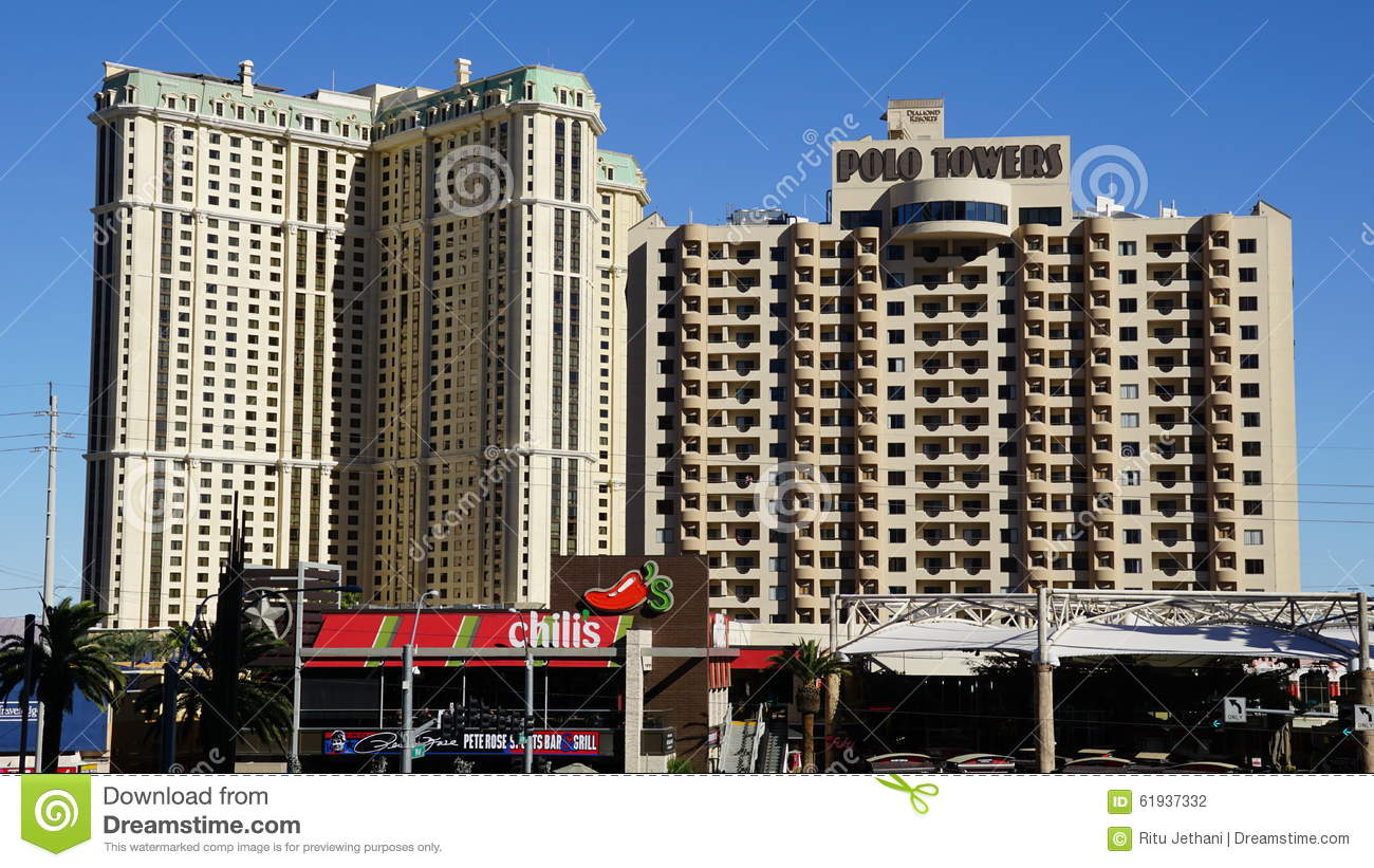 polo towers in las vegas nevada editorial photography. Black Bedroom Furniture Sets. Home Design Ideas