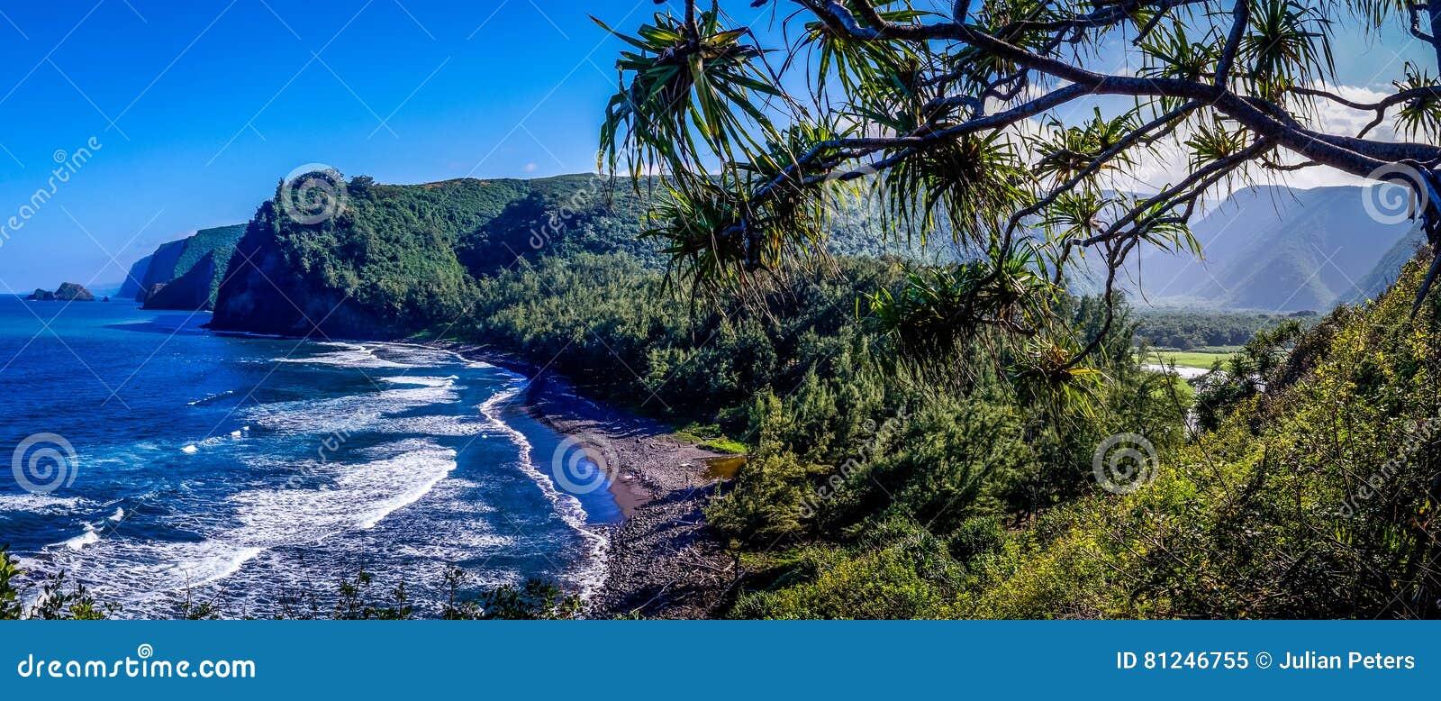 Pololu-Tal-Hawaii-Panorama