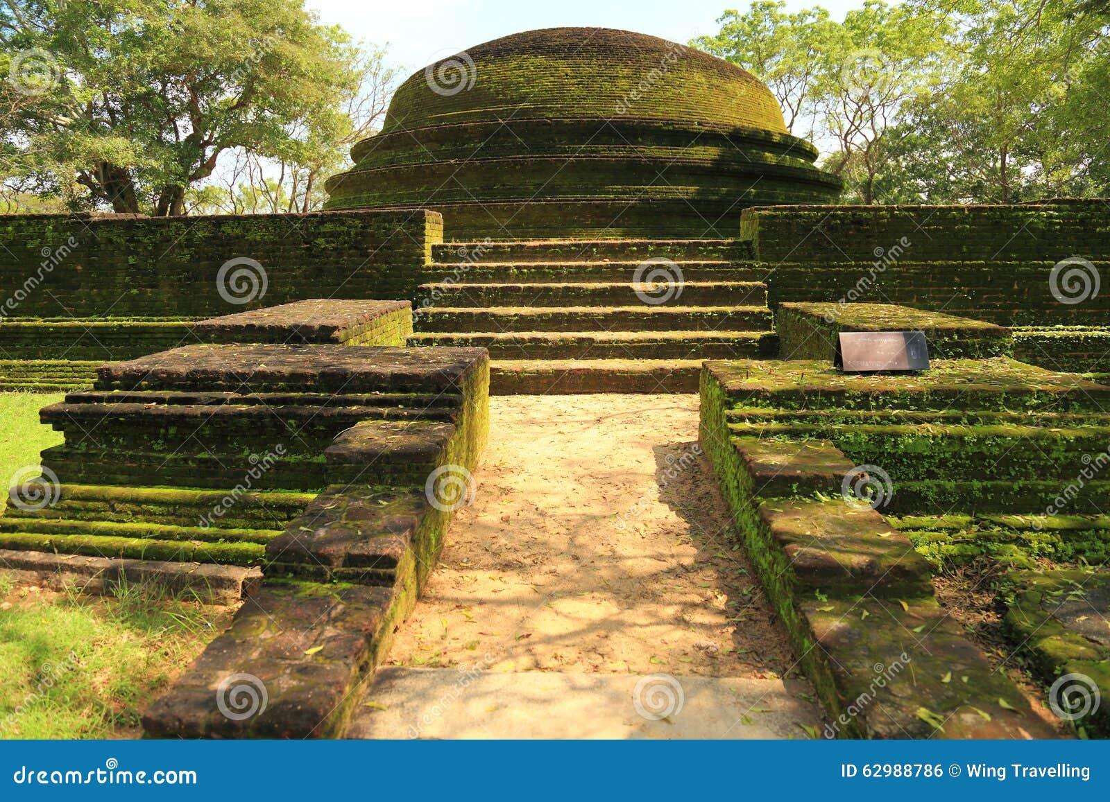Polonnaruwa-Ruine