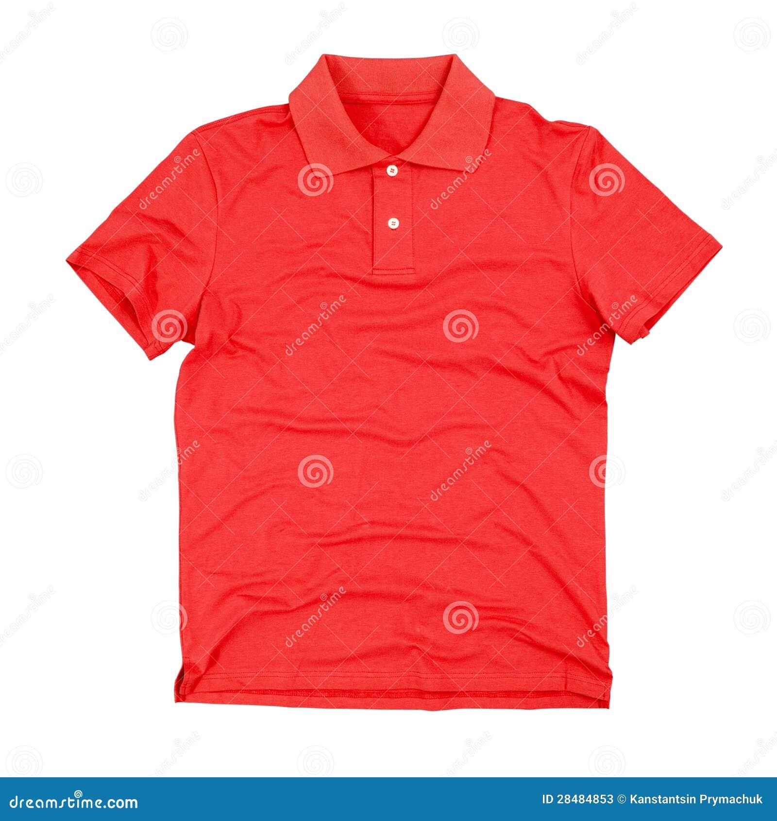 Polot-skjorta som isoleras på vit