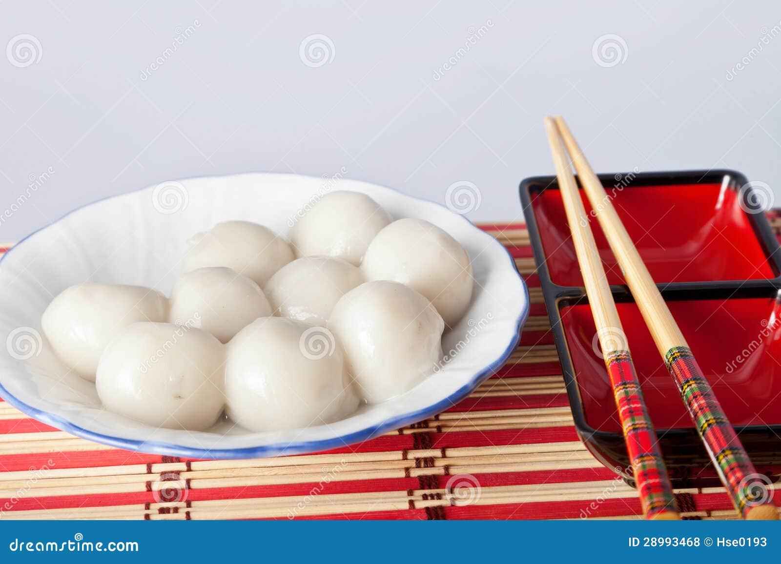 Polpette dolci cinesi fotografie stock libere da diritti for Oggetti tradizionali cinesi