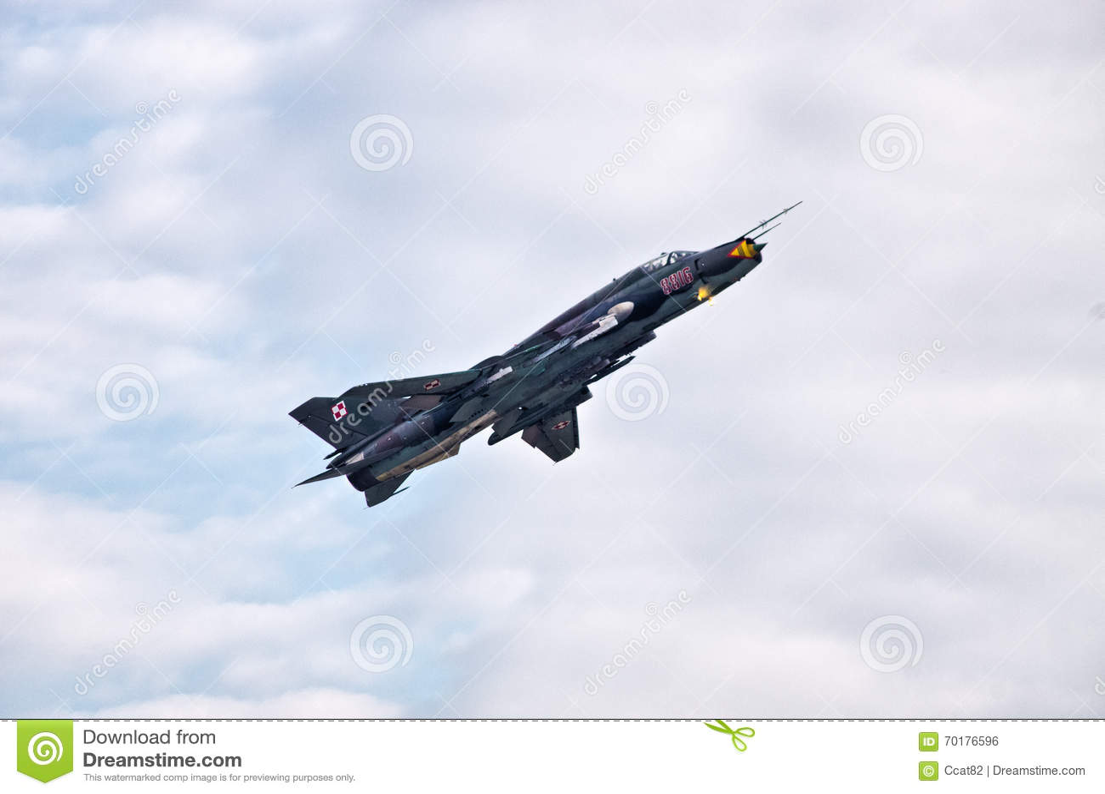 Polsk Su-22M4 på Radom Airshow, Polen