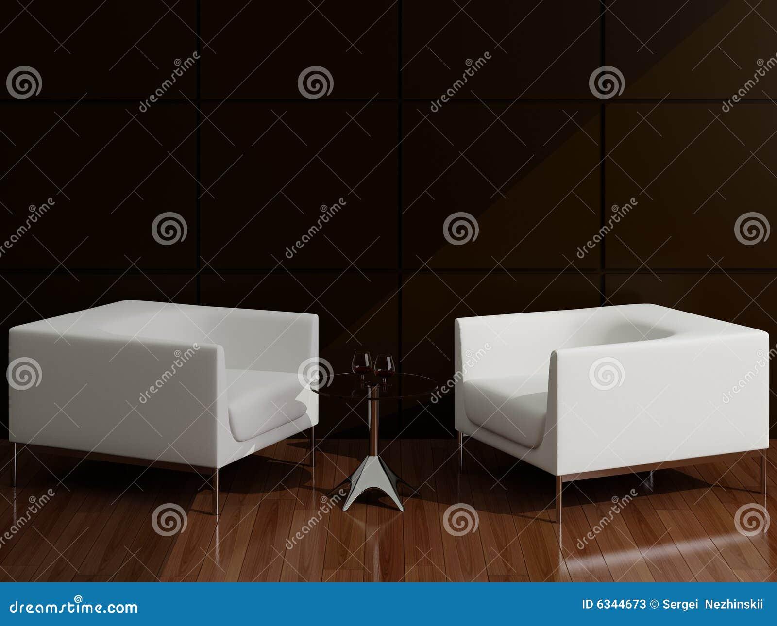Poltrona Branca Para Sala De Estar