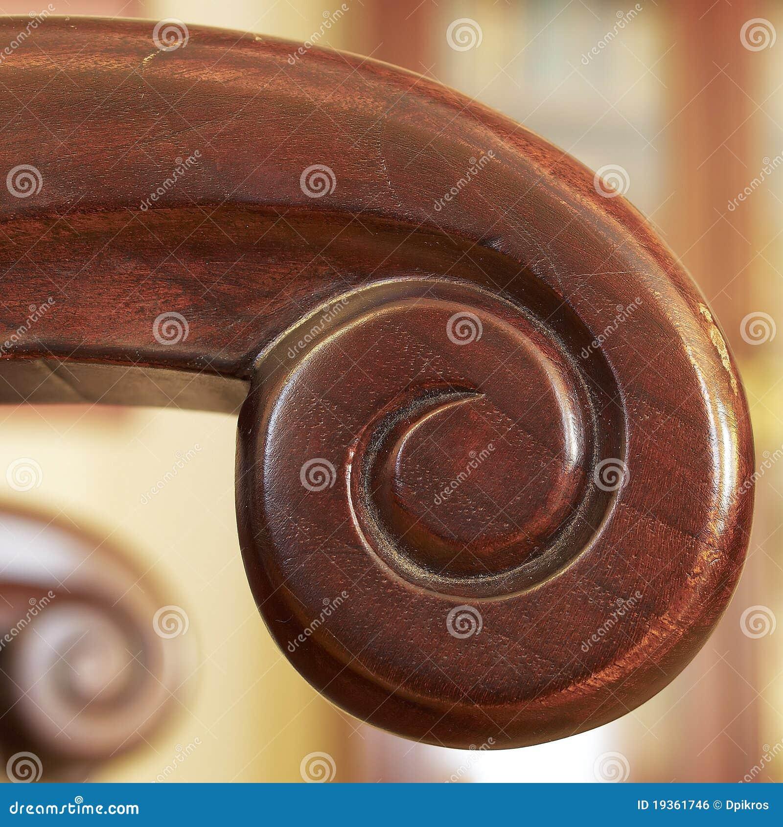 Poltrona de madeira Hand-made