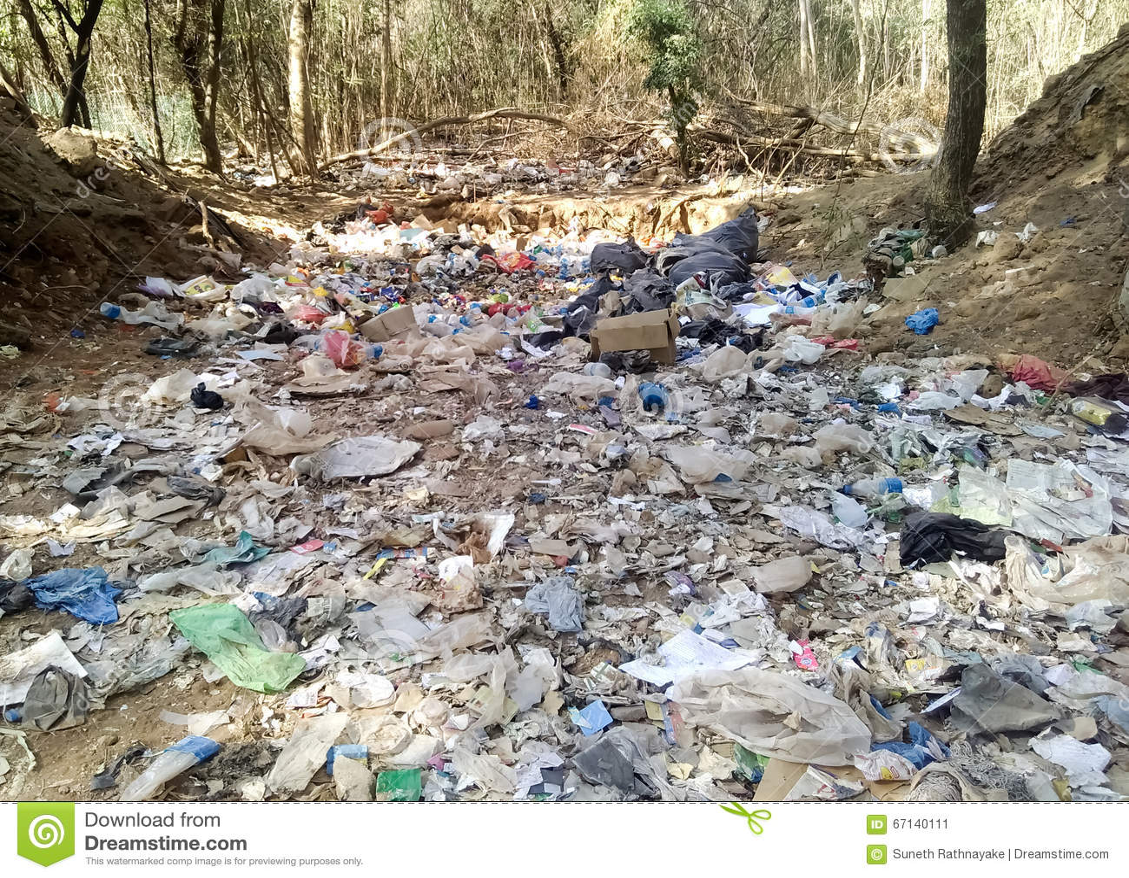 Poluição do ambiente na cidade