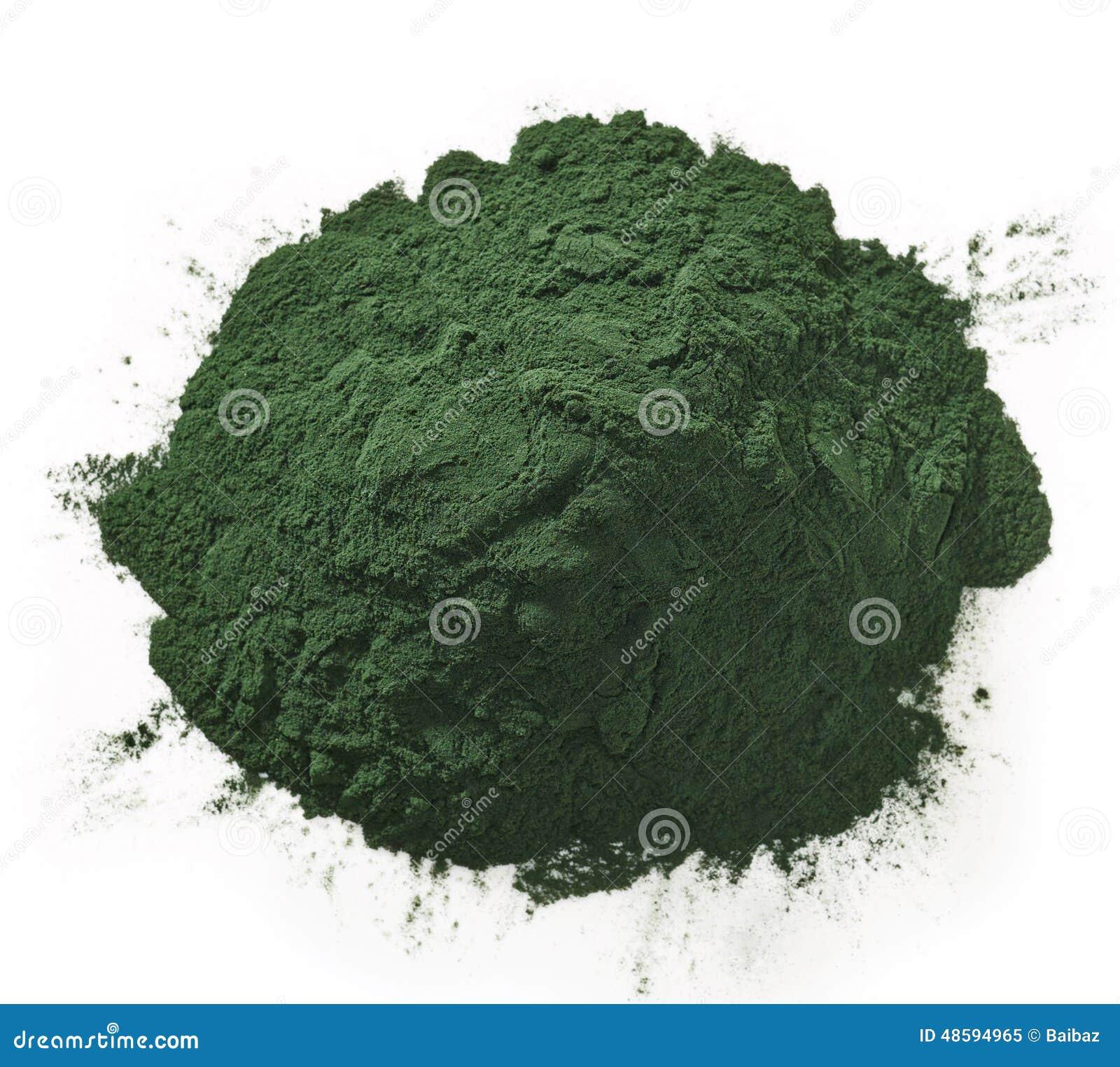 Polvere di alghe di Spirulina