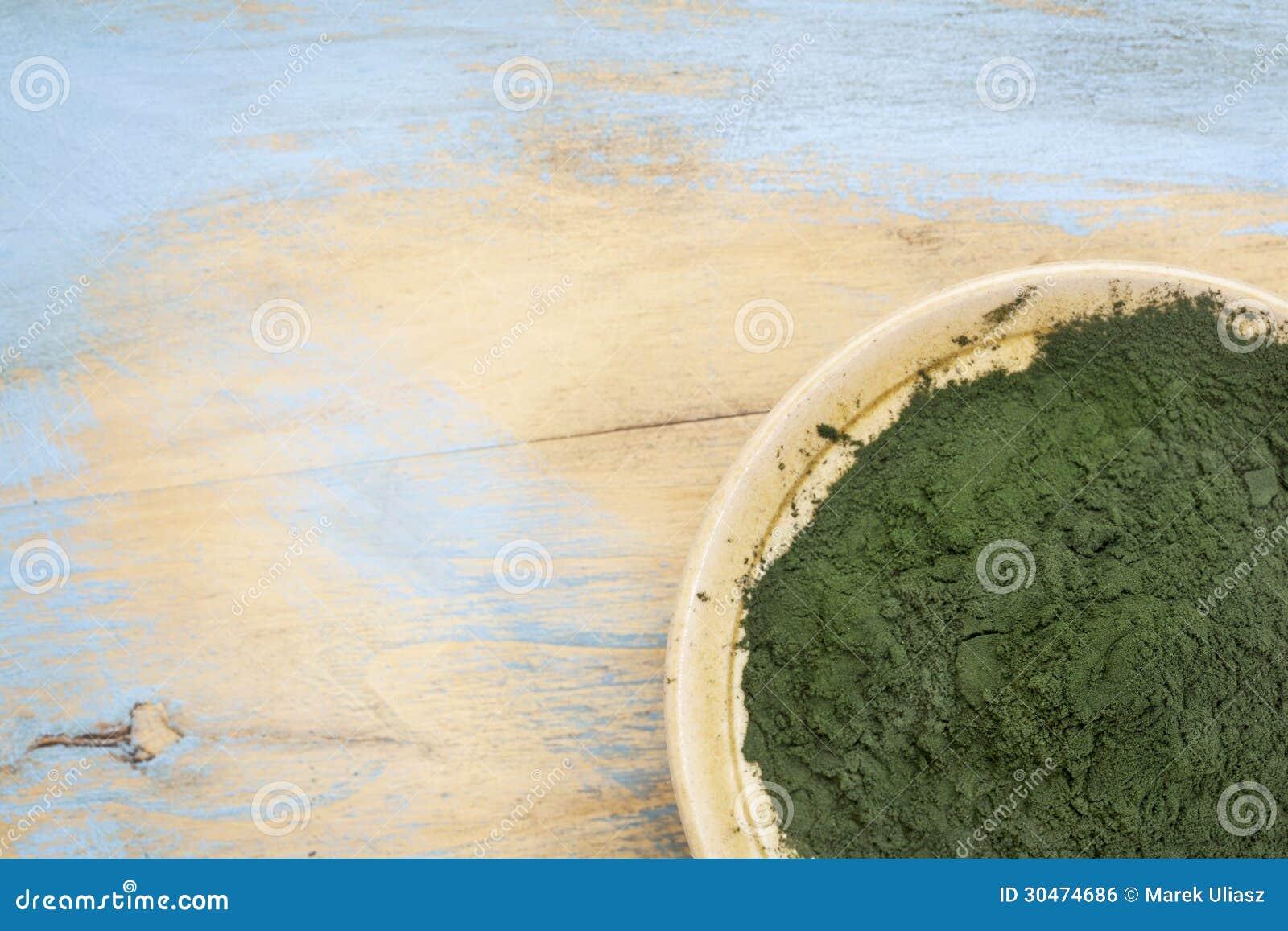 Polvere hawaiana di spirulina