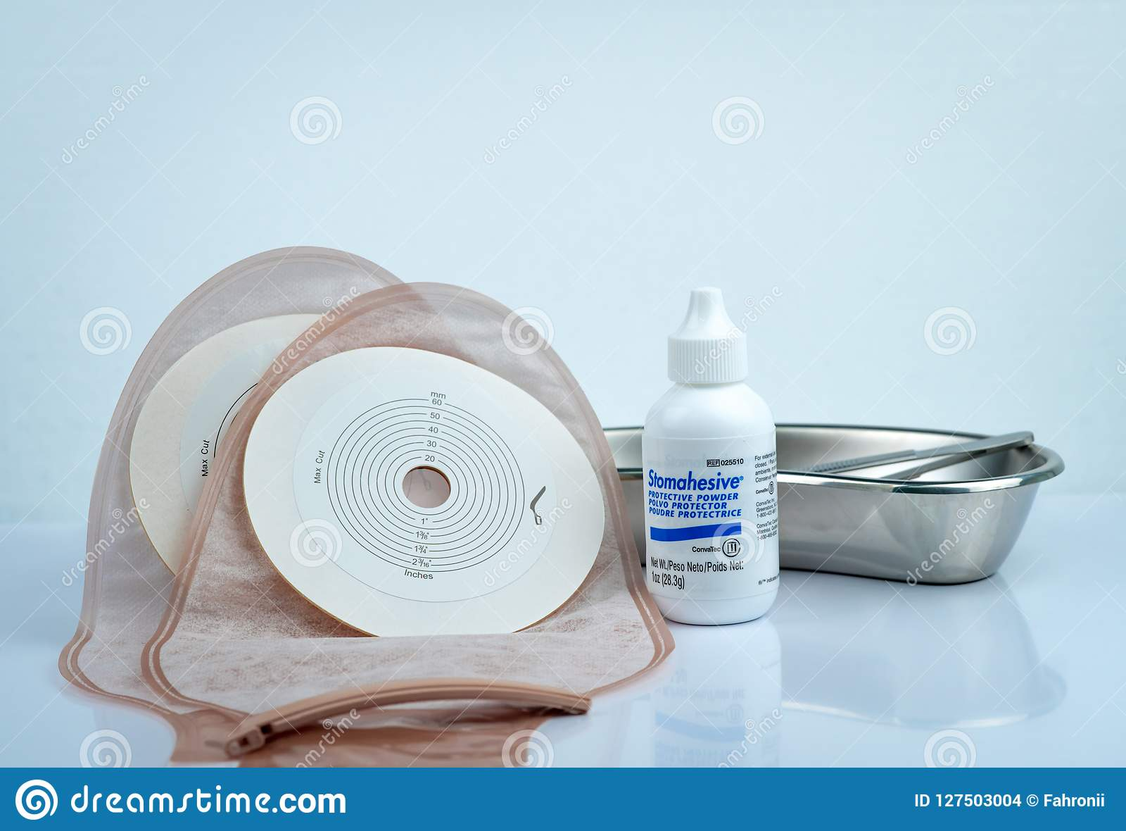 Polvere protettiva di Stomahesive Prodotto di Stomahesive di Convatec Prodotti di cura dello stoma ed ileostomy o colostomia scar
