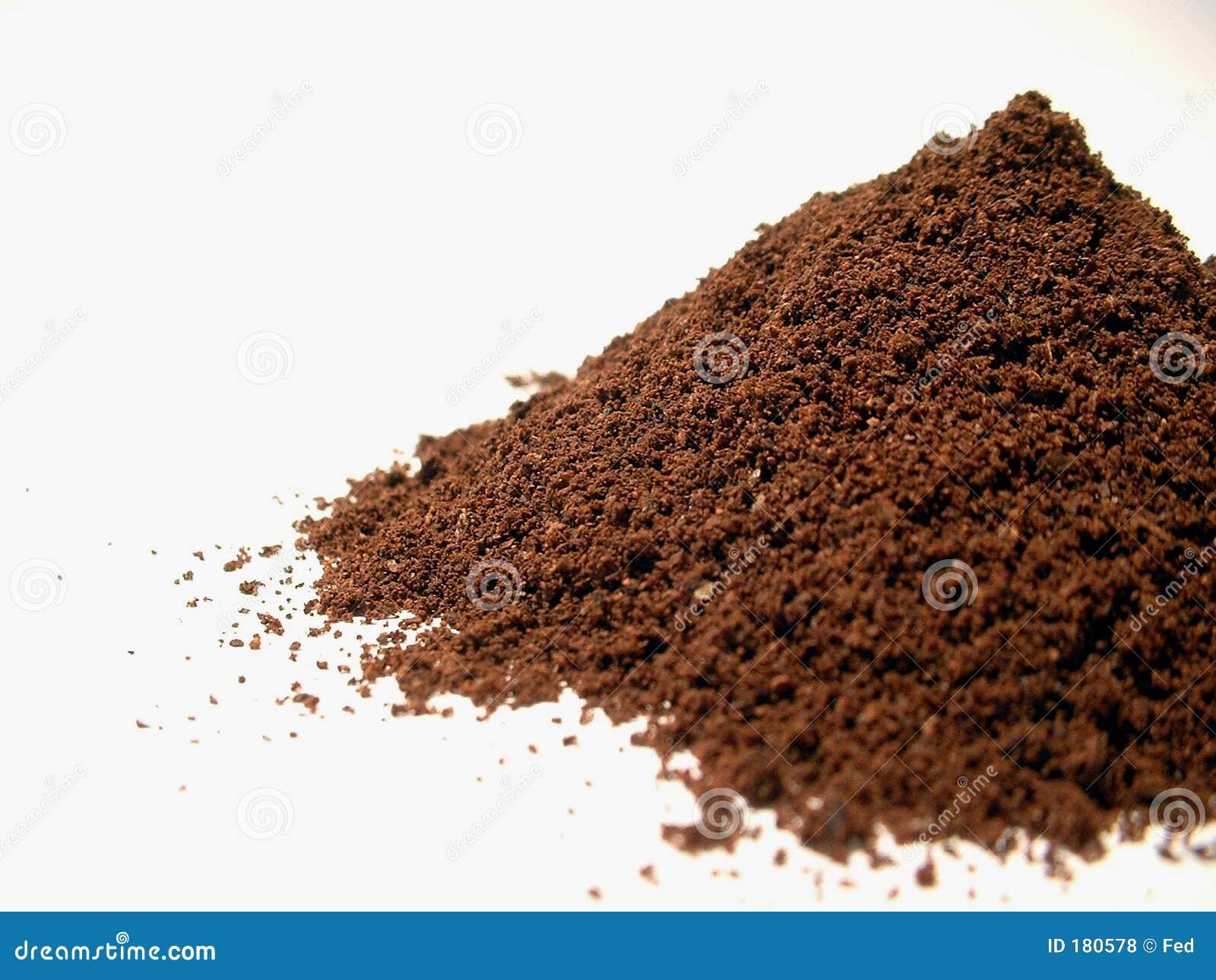 Polvo 1 del café