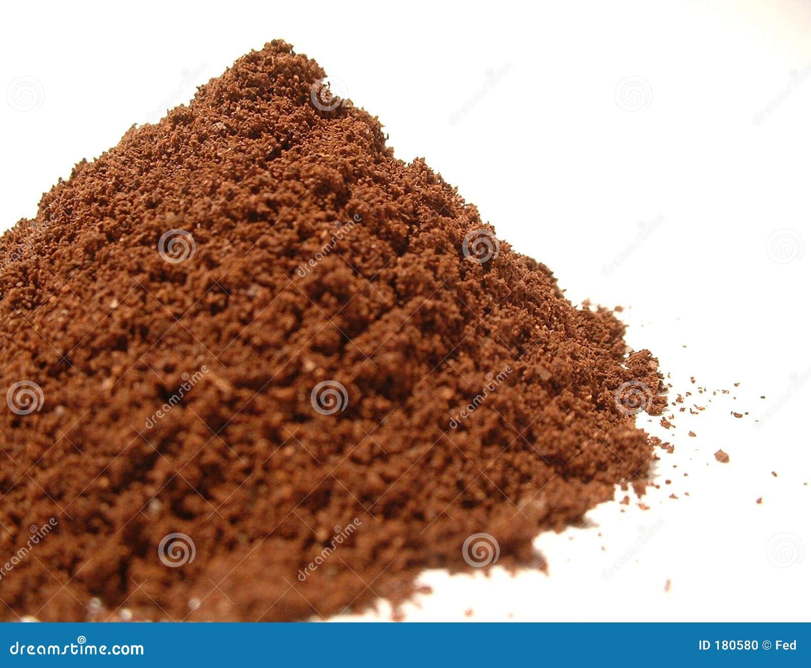 Polvo 2 del café