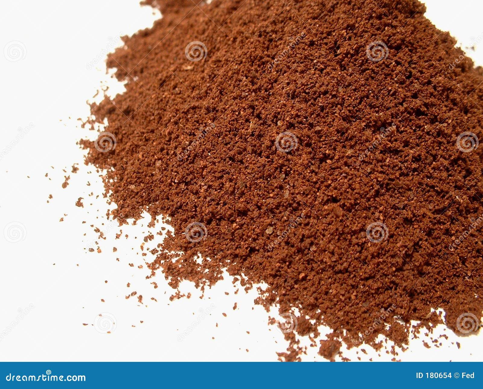 Polvo 3 del café