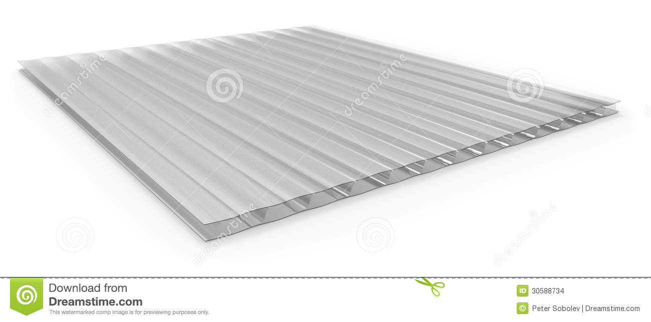 Polycarbonate corrugated sandwich panel stock images - Plaque polycarbonate transparente ...