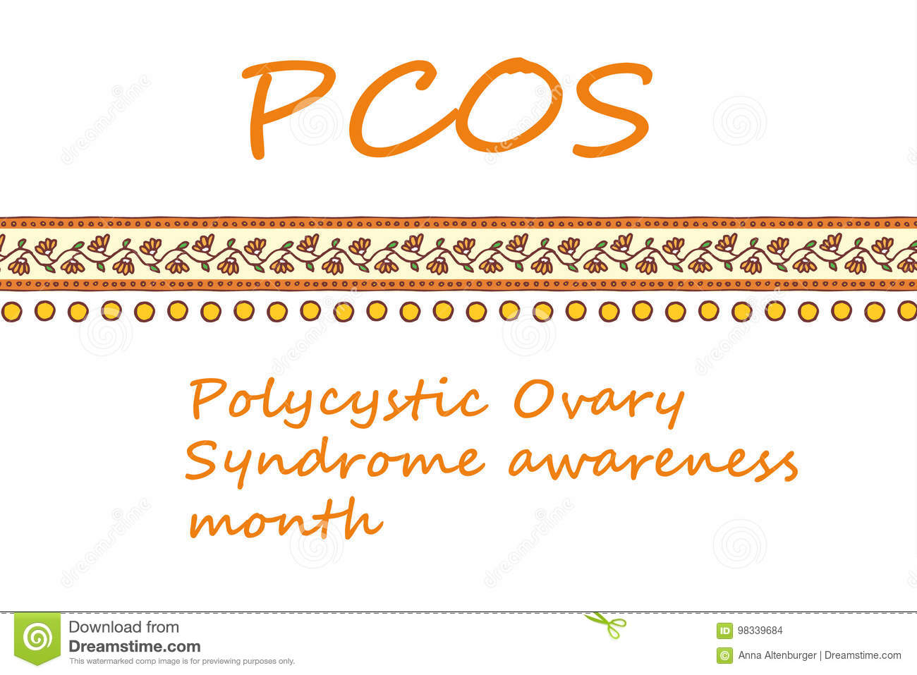 Polycystic ovary syndrome awareness month