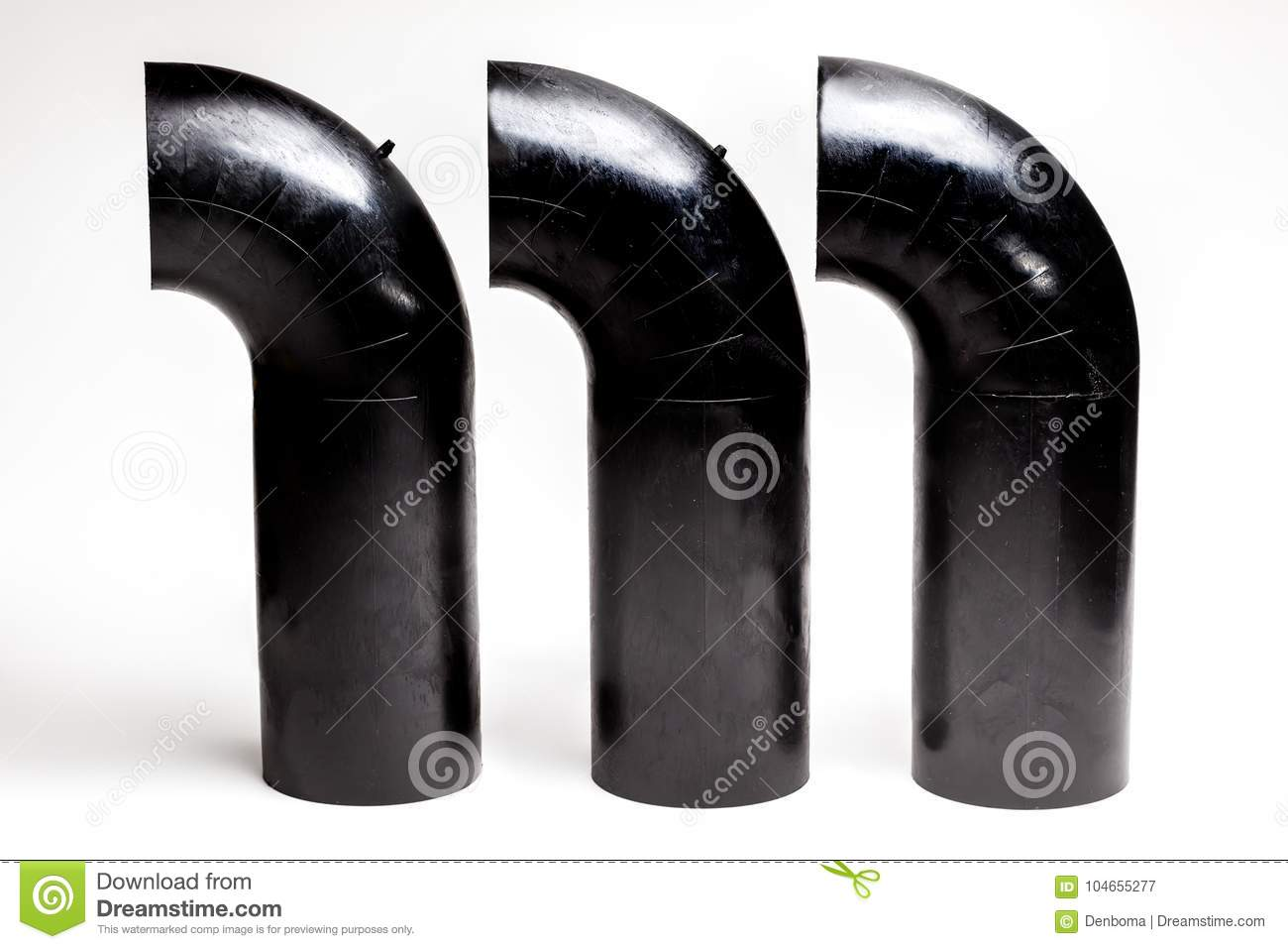 Tube connection toilet stock image  Image of industrial