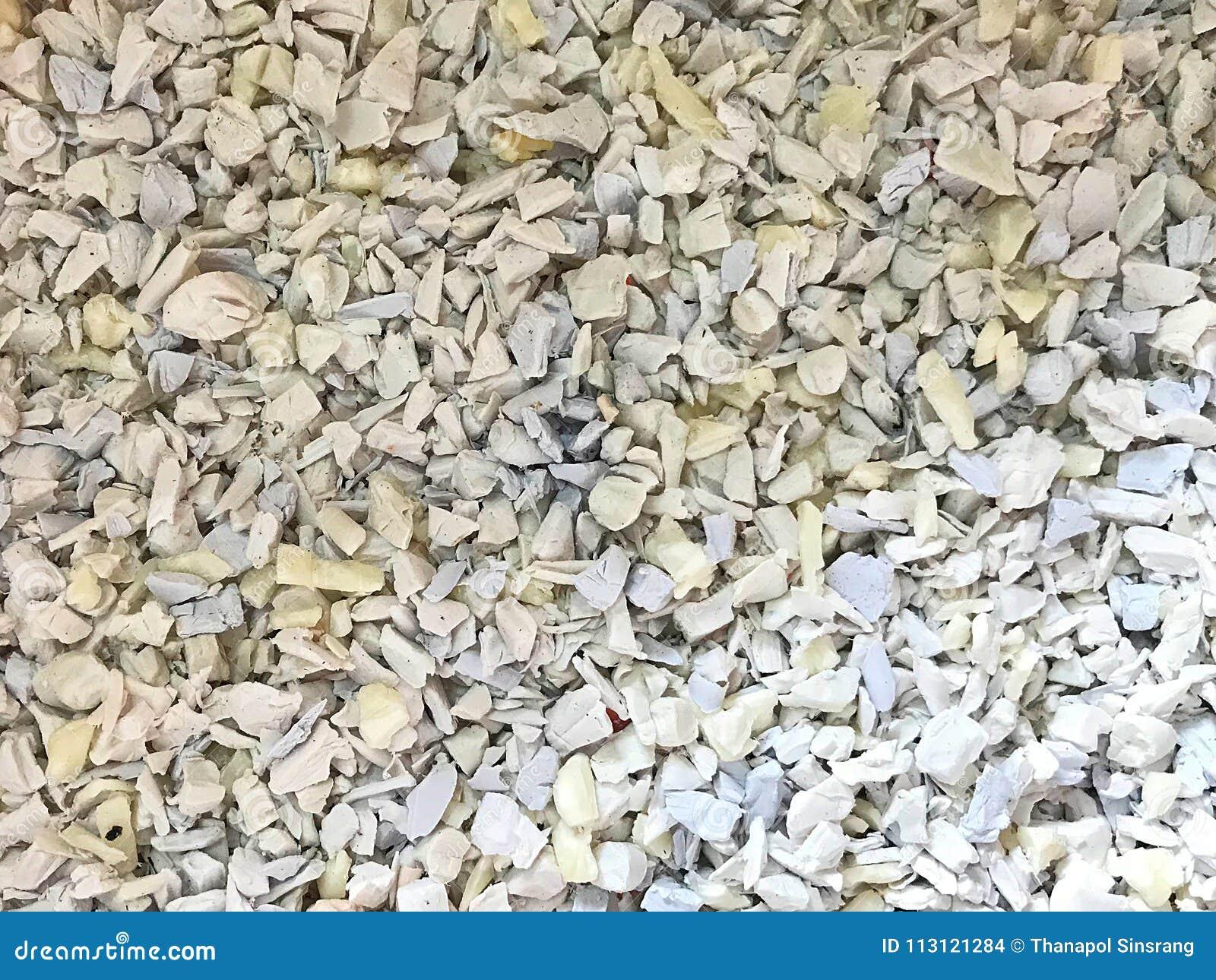 Polyethylene Resin, Plastic Scrap Stock Photo - Image of