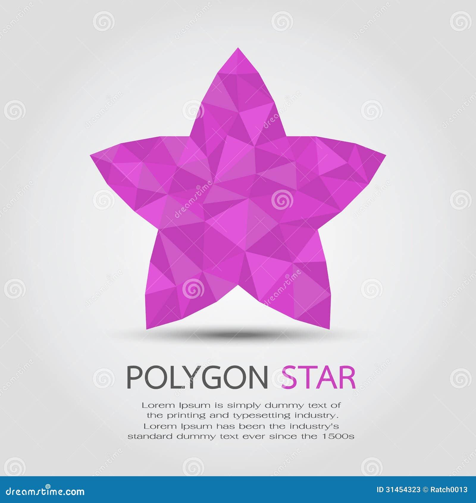polygon star stock photos image  polygon star