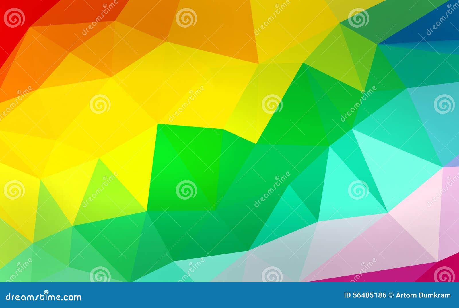 Polygone coloré