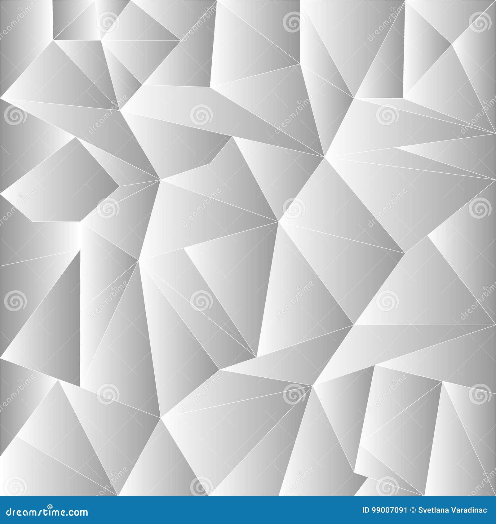 Bas Poly Calibre Créatif De Triangle