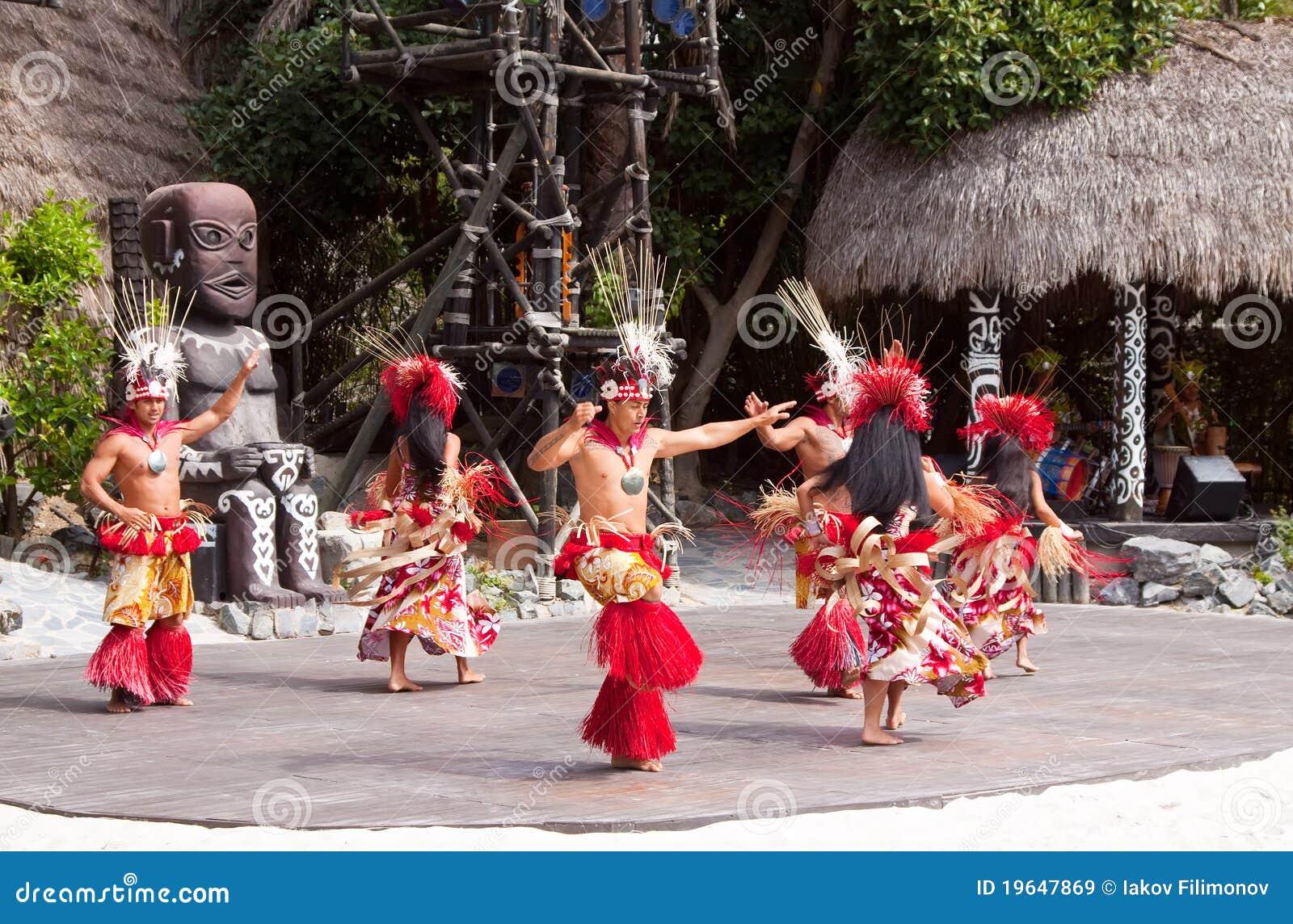 Polynesisches Erscheinen