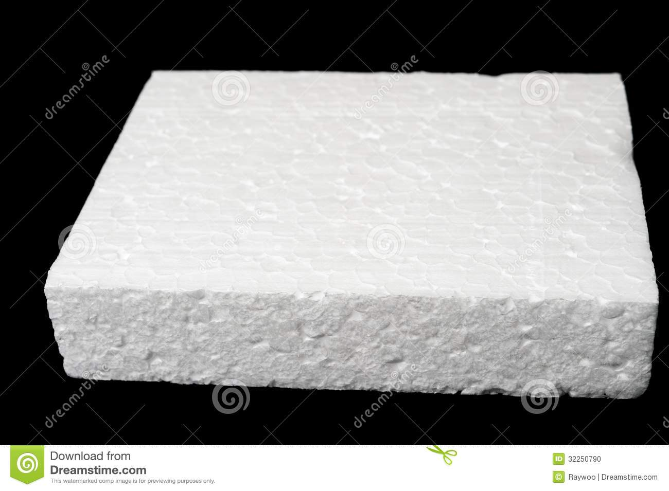 Polystyrene Foam Stock Photo Image 32250790