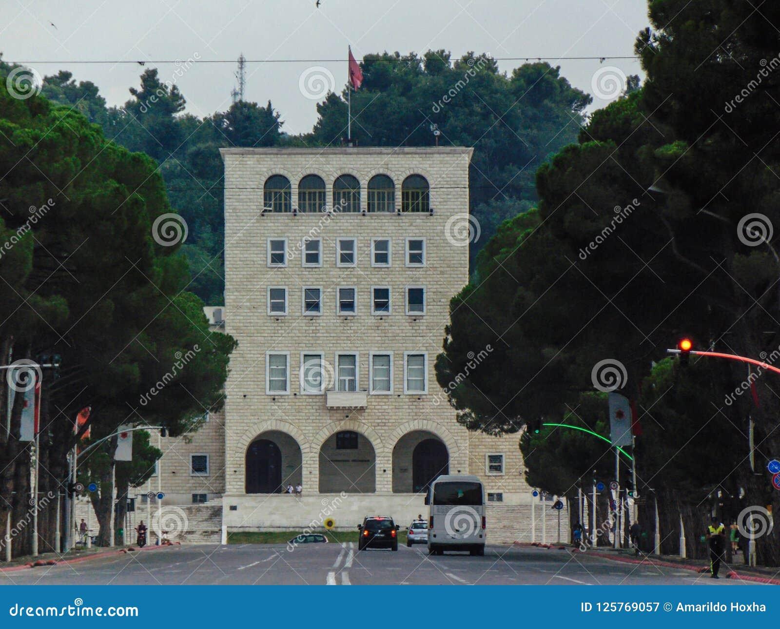 Polytechnic University of Tirana.