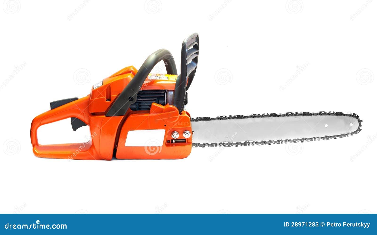Pomarańcze łańcuchu saw